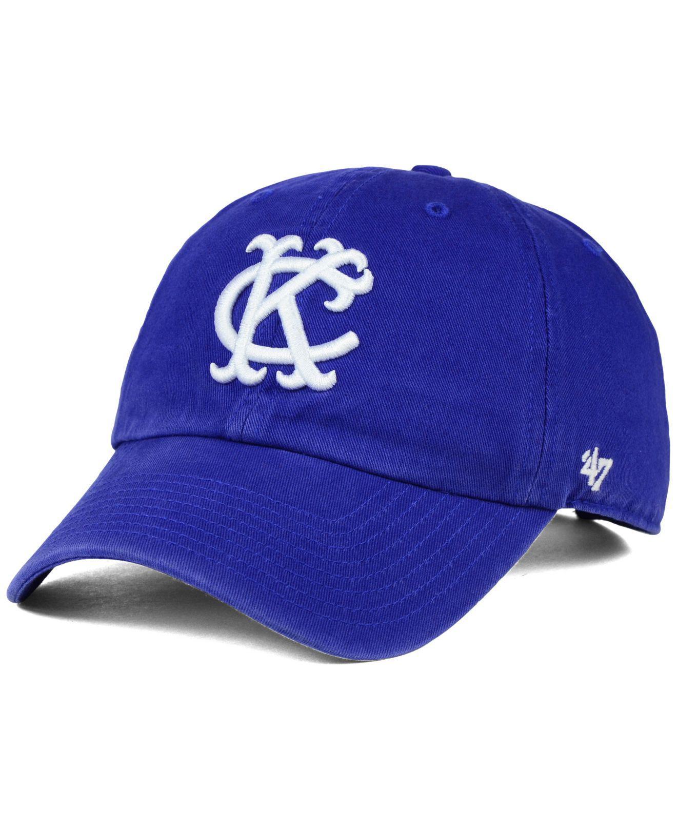 ffb12d68d04cb 47 Brand Kansas City Athletics Core Clean Up Cap in Blue for Men - Lyst