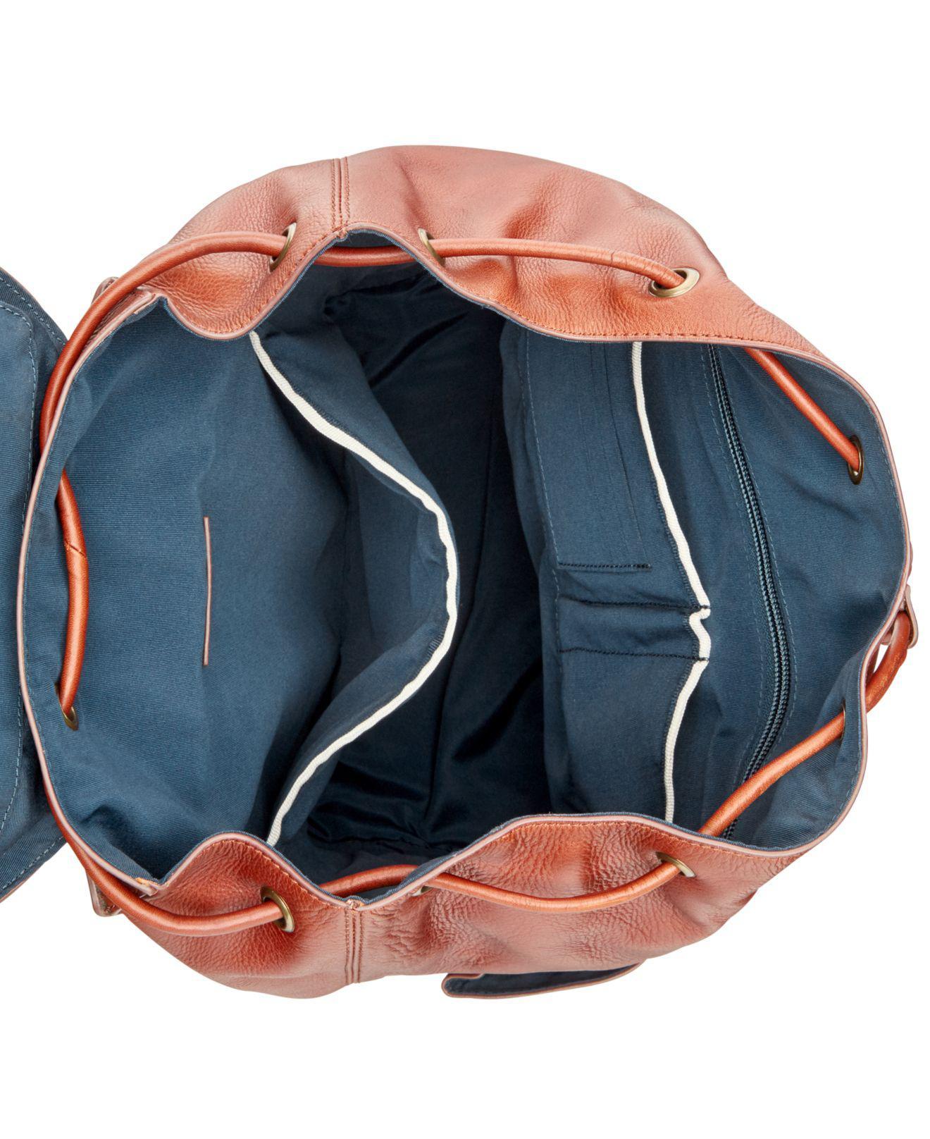 91aa55d8e Cole Haan Men's Van Buren Leather Backpack for Men - Lyst