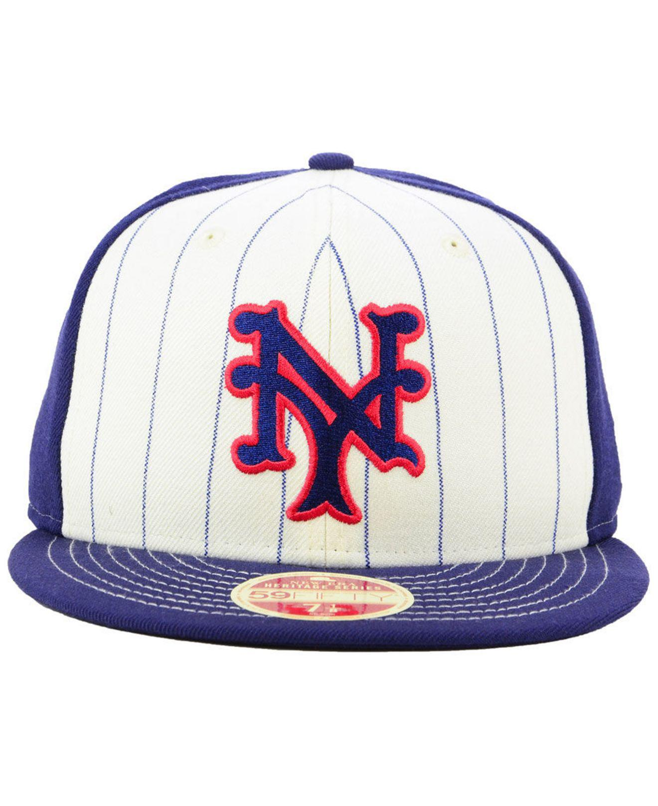 new concept 246e7 b3563 ... mlb c dub 2.0 59fifty cap skyblue e4f93 91dae  clearance lyst ktz new  york giants vintage front 59fifty fitted cap in blue for men e92ec