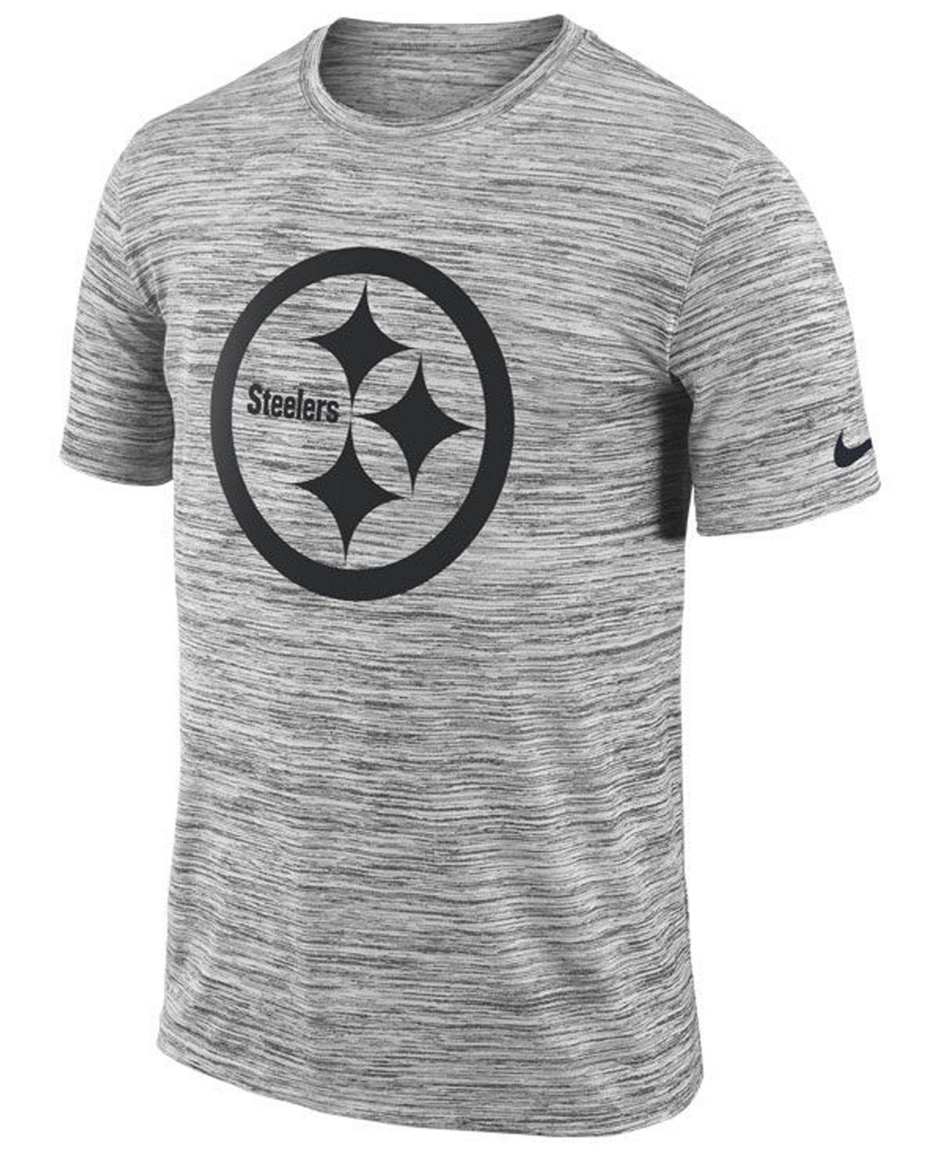 006e87d7 Lyst - Nike Pittsburgh Steelers Legend Velocity Travel T-shirt in ...