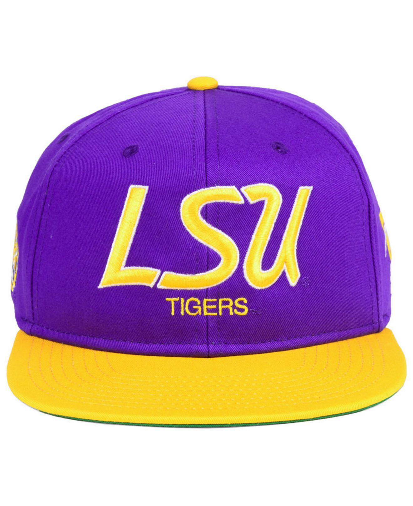 huge discount a9a81 f7933 ... usa lyst nike lsu tigers sport specialties snapback cap in purple for  men 3e710 6a280