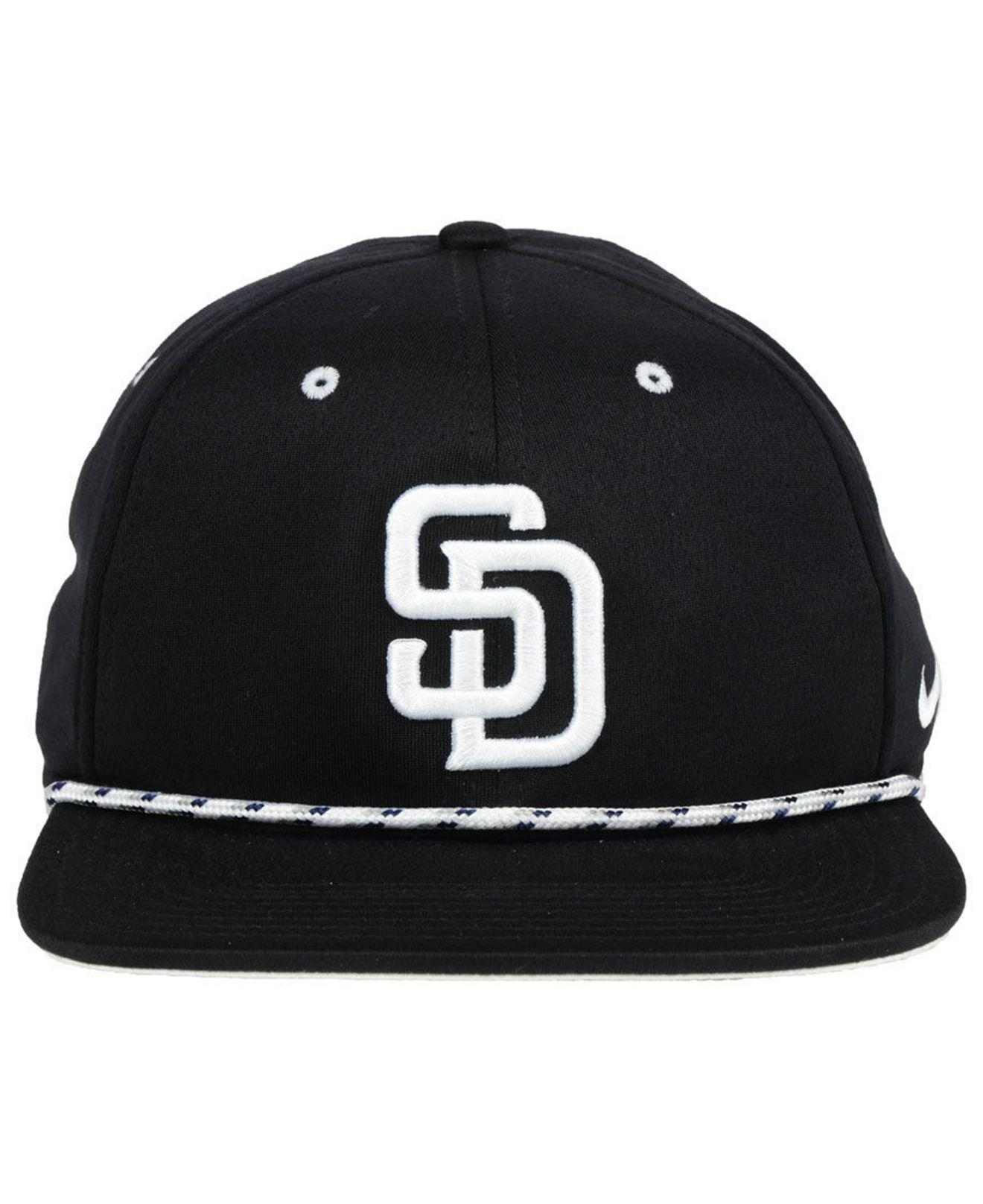 b0d522feb75 coupon new era 9fifty san diego padres quotestablisherquot snapback hat  camo black b33e9 cccae  reduced lyst nike san diego padres string bill  snapback cap ...
