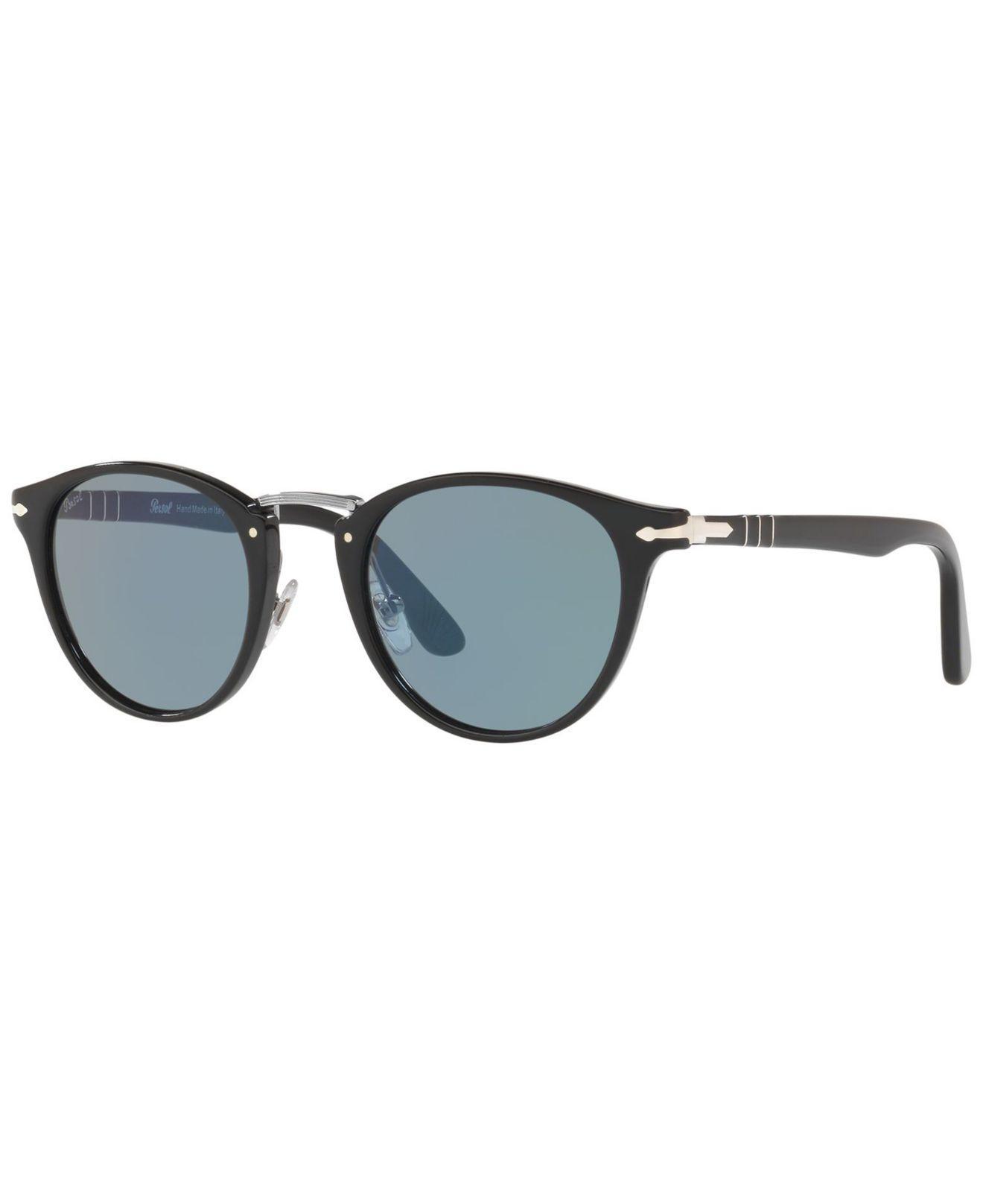 72f0429387ae8 Persol. Men s Black Sunglasses ...