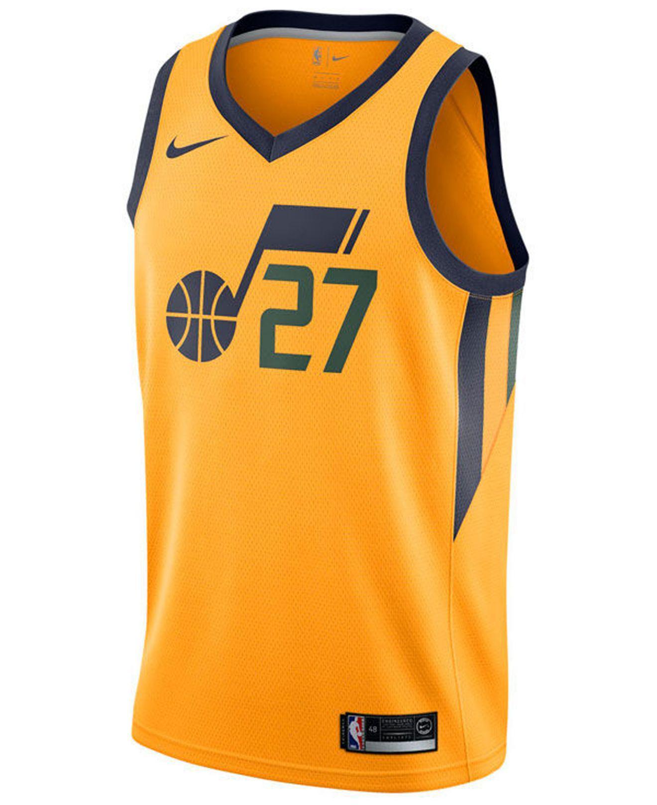 low cost 5c3ab 95d0e Lyst - Nike Rudy Gobert Utah Jazz City Swingman Jersey in ...