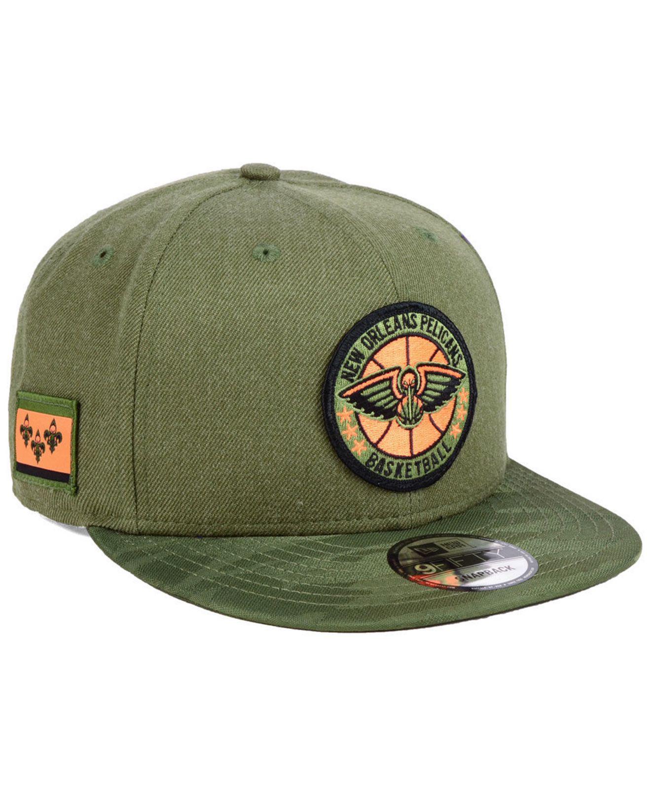 timeless design b380e 02368 discount ktz. mens green new orleans pelicans tip off 9fifty snapback cap  08a43 e0af8