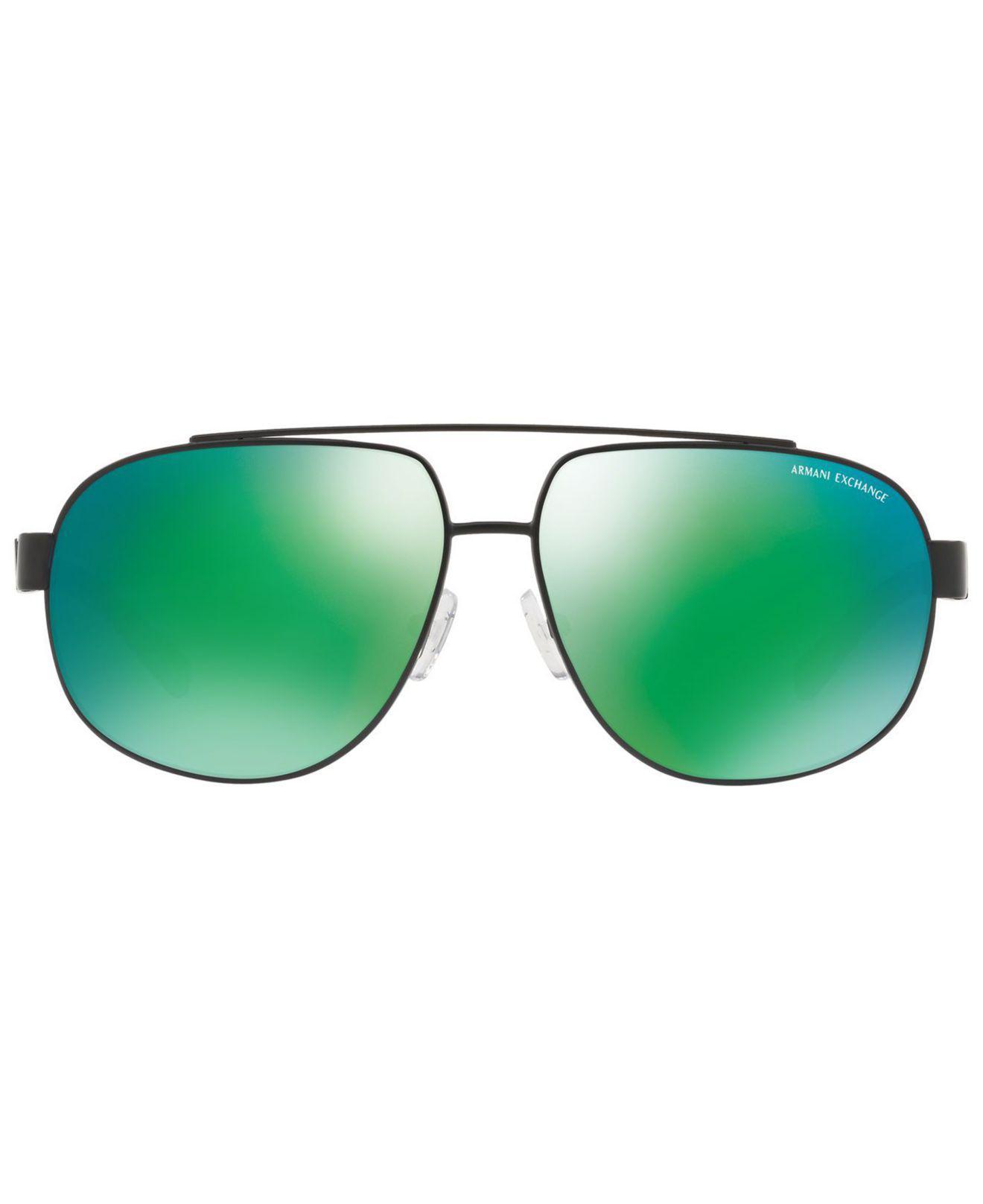 cc325fc35a0 Lyst - Armani Exchange Polarized Sunglasses