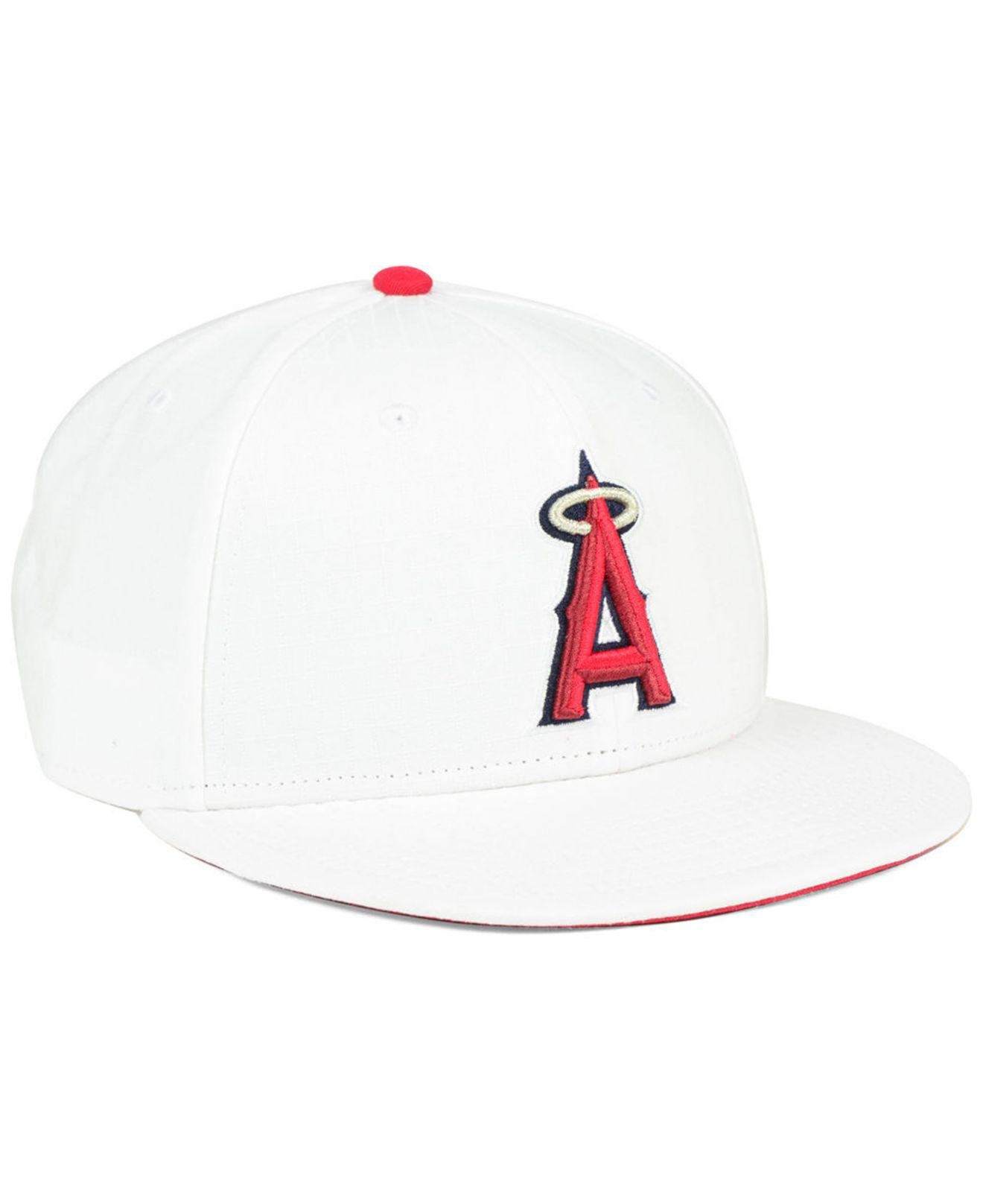 457429d3adb903 ... wholesale nike los angeles angels white ripstop snapback cap for men  lyst. view fullscreen 85d5d