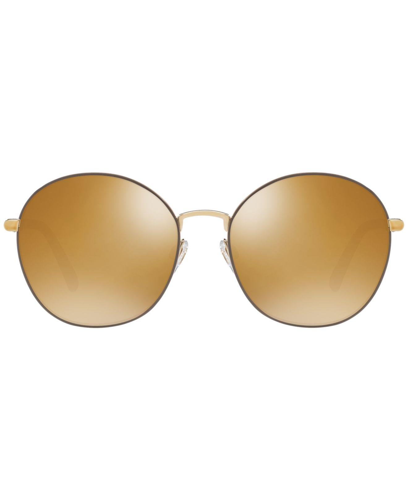 7e94d35fe931 Lyst - Burberry Polarized Sunglasses