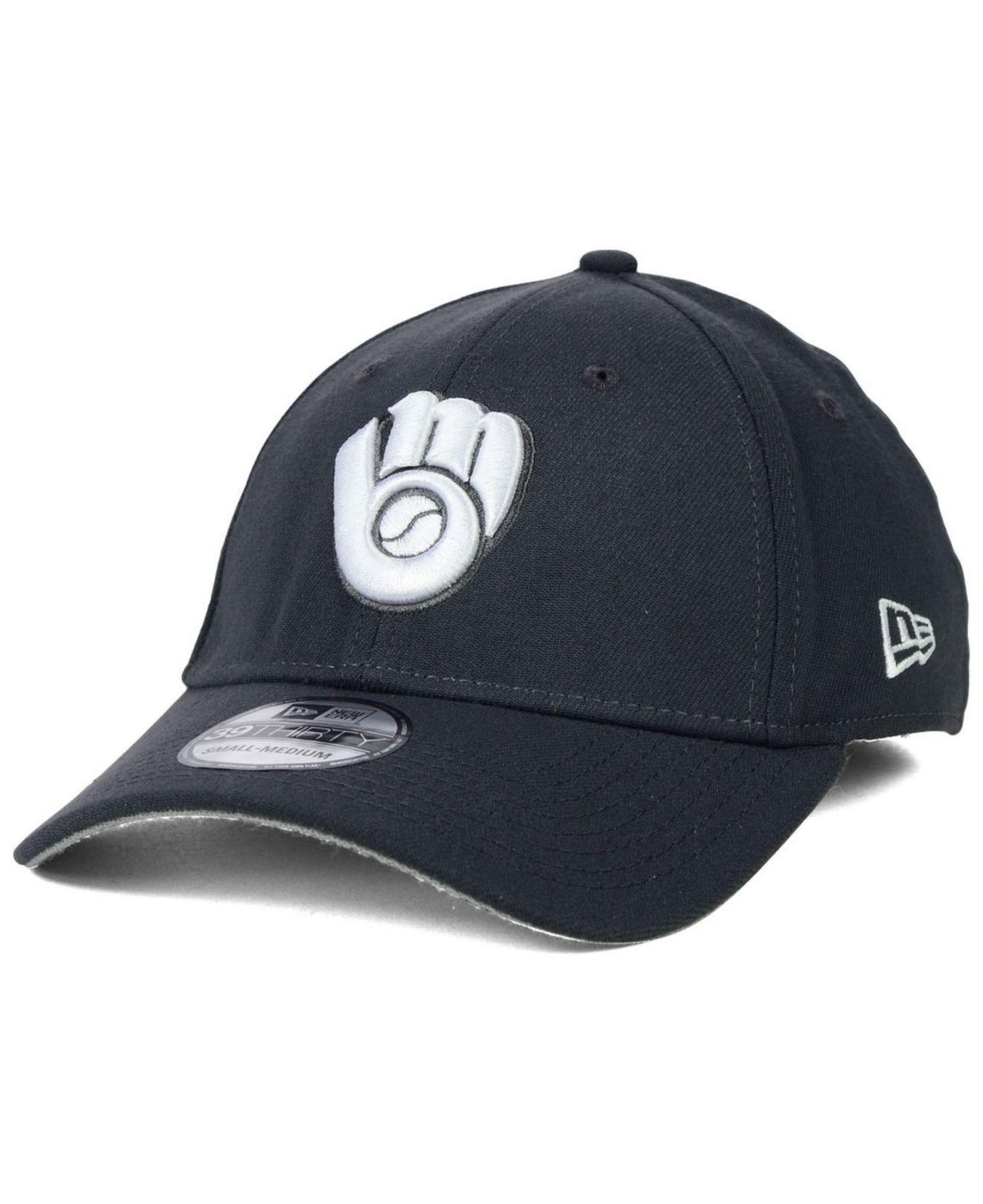 sneakers for cheap 311e0 97814 Lyst - KTZ Milwaukee Brewers Fashion 39thirty Cap in Gray for Men