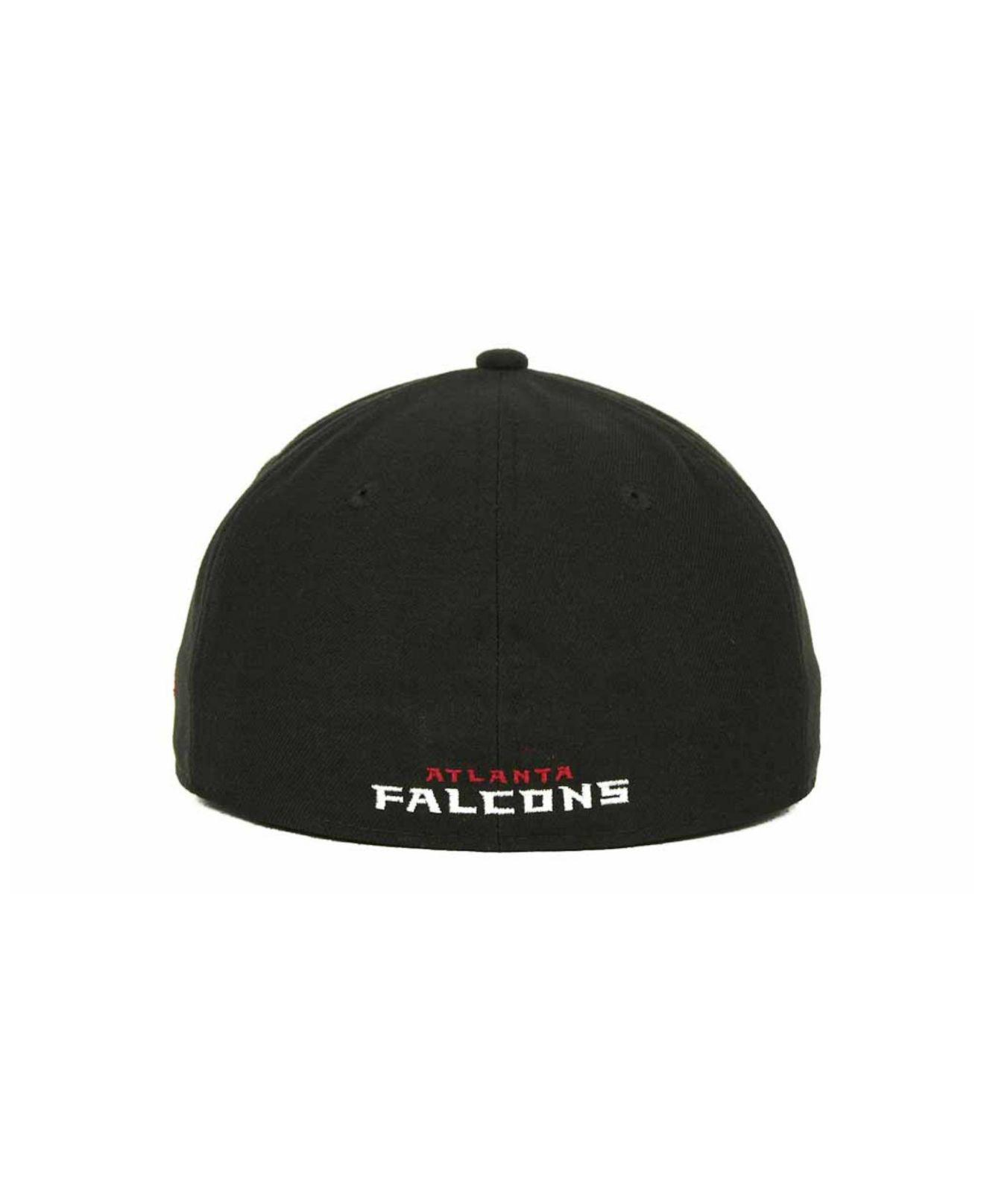 timeless design d61b1 91a88 ... spain usa lyst ktz atlanta falcons nfl black team 59fifty cap in black  for men 7d91c