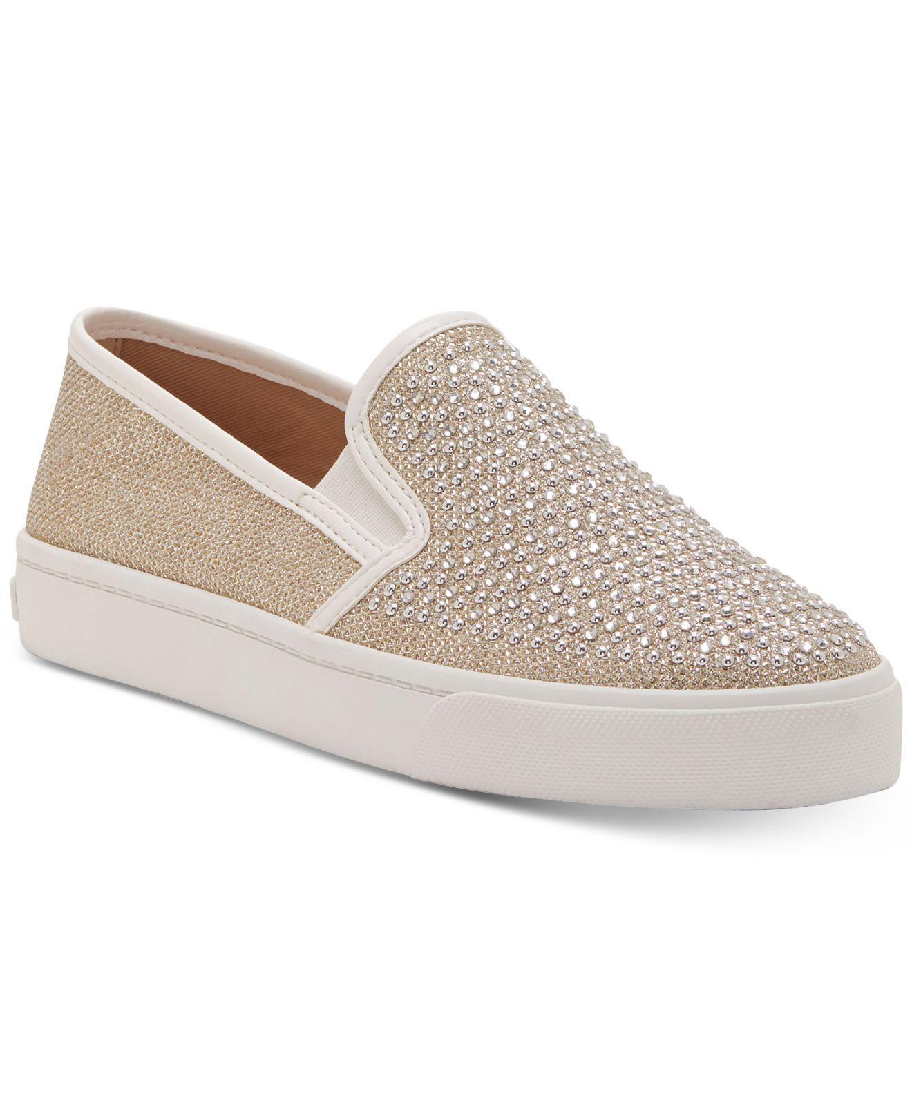 f71358f413f INC International Concepts. Women s Metallic Sammee Slip-on Sneakers