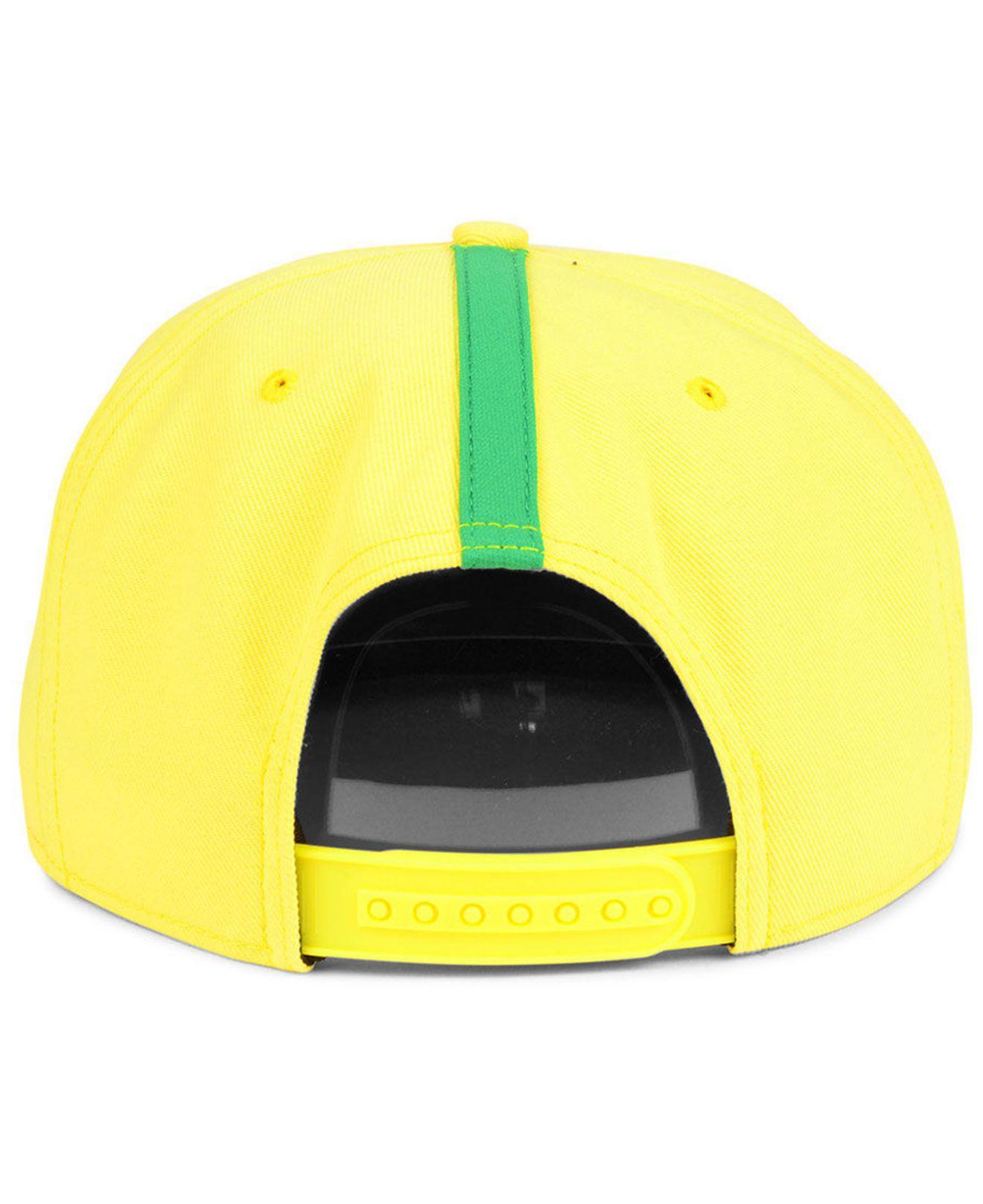 Nike - Yellow Brazil National Team Snapback Cap for Men - Lyst. View  fullscreen 261299637ce3