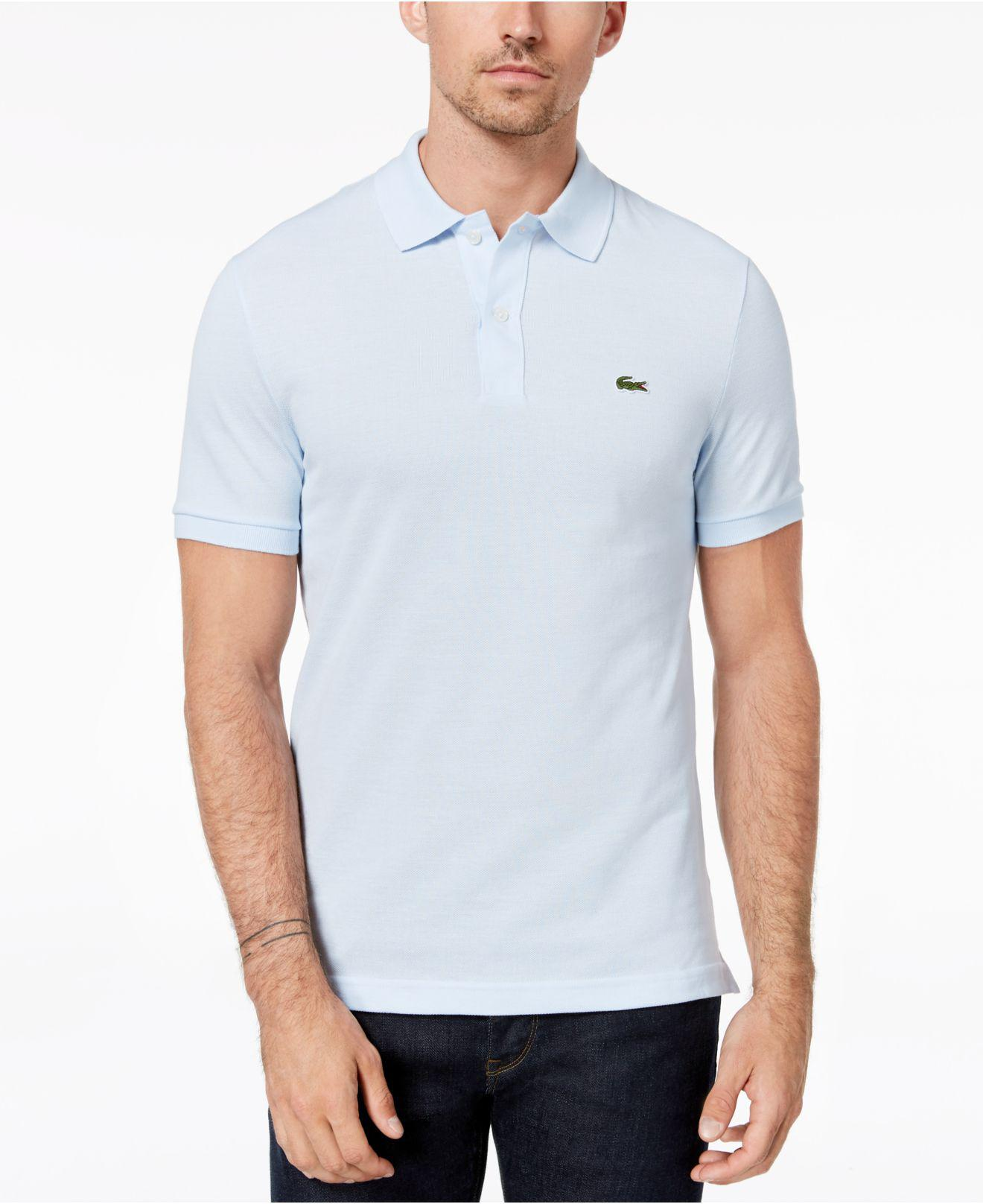 103db9196d5e Lyst - Lacoste Slim-fit Polo for Men