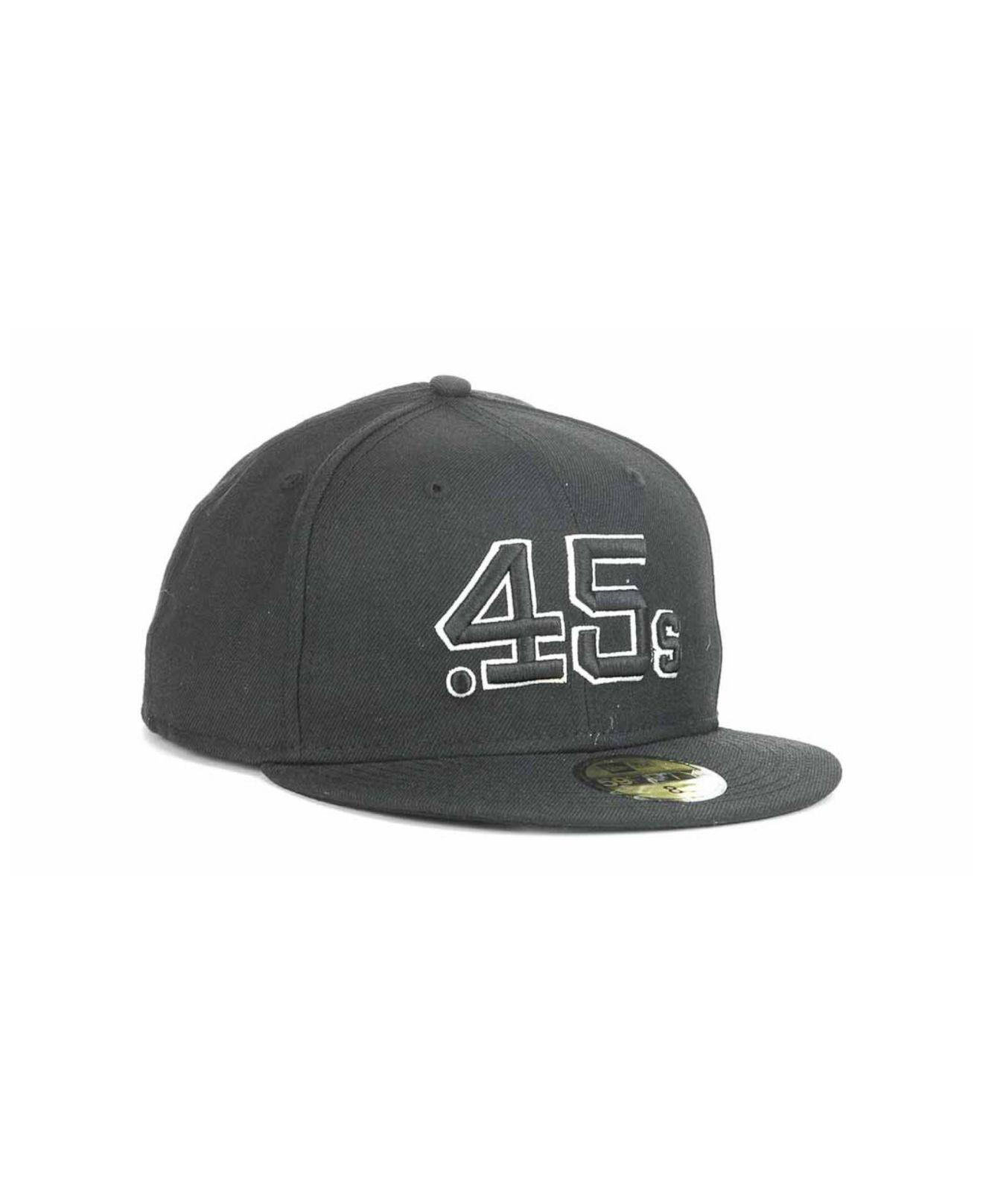 94c4714afd810 ... closeout lyst ktz houston colt .45s fashion 59fifty cap in black for men  302f7 e2823