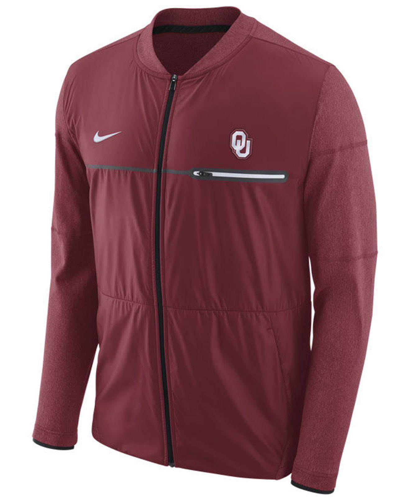 9b3ccfc7488e Lyst - Nike Men s Elite Hybrid Jacket in Red for Men