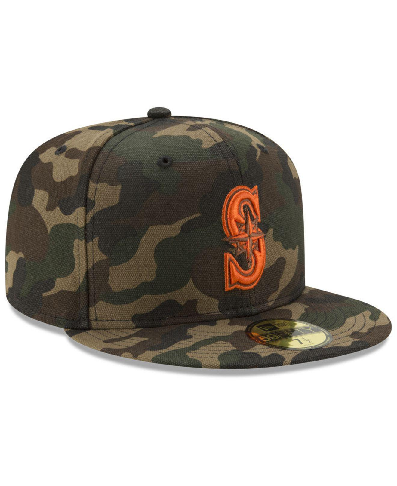 new product 6388c 307f4 Lyst - KTZ Camo On Canvas 59fifty Cap in Green for Men