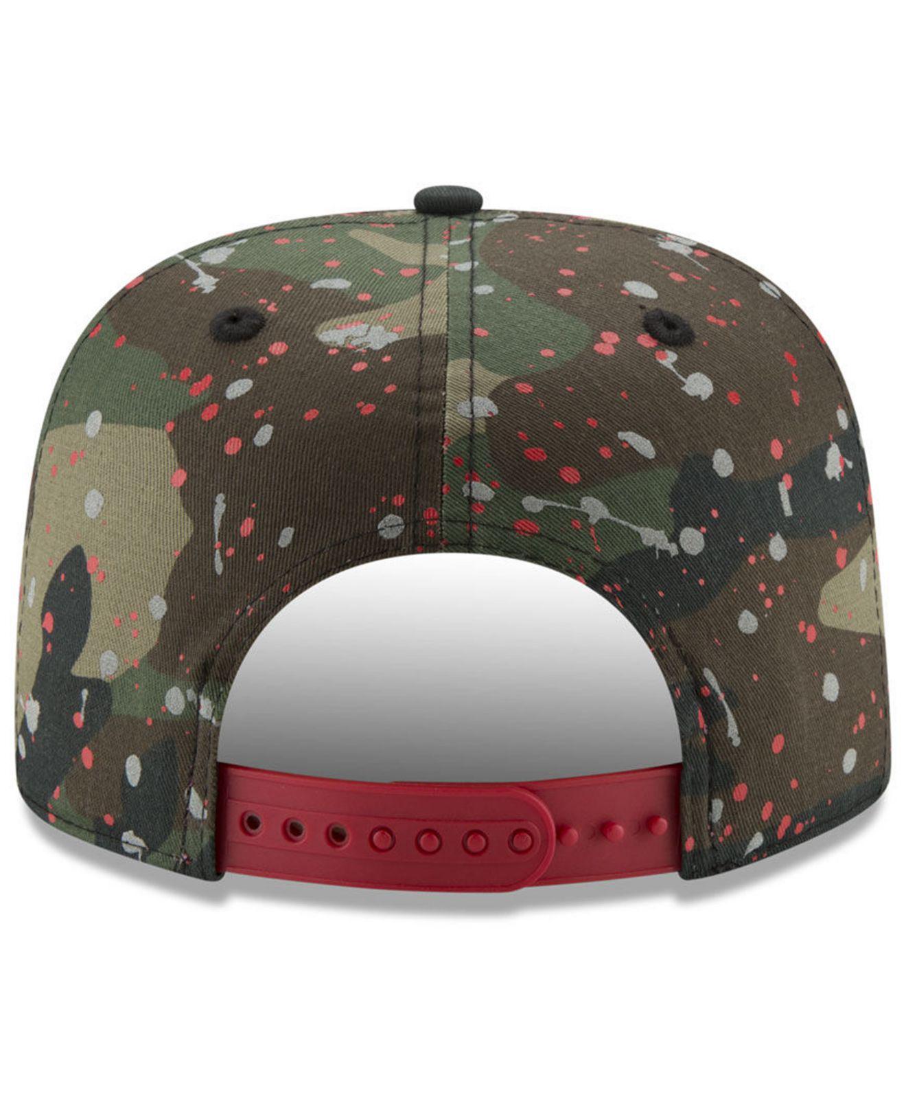 buy online 88c84 20dda ... Washington Nationals Camo Spec 9fifty Snapback Cap for Men - Lyst. View  fullscreen