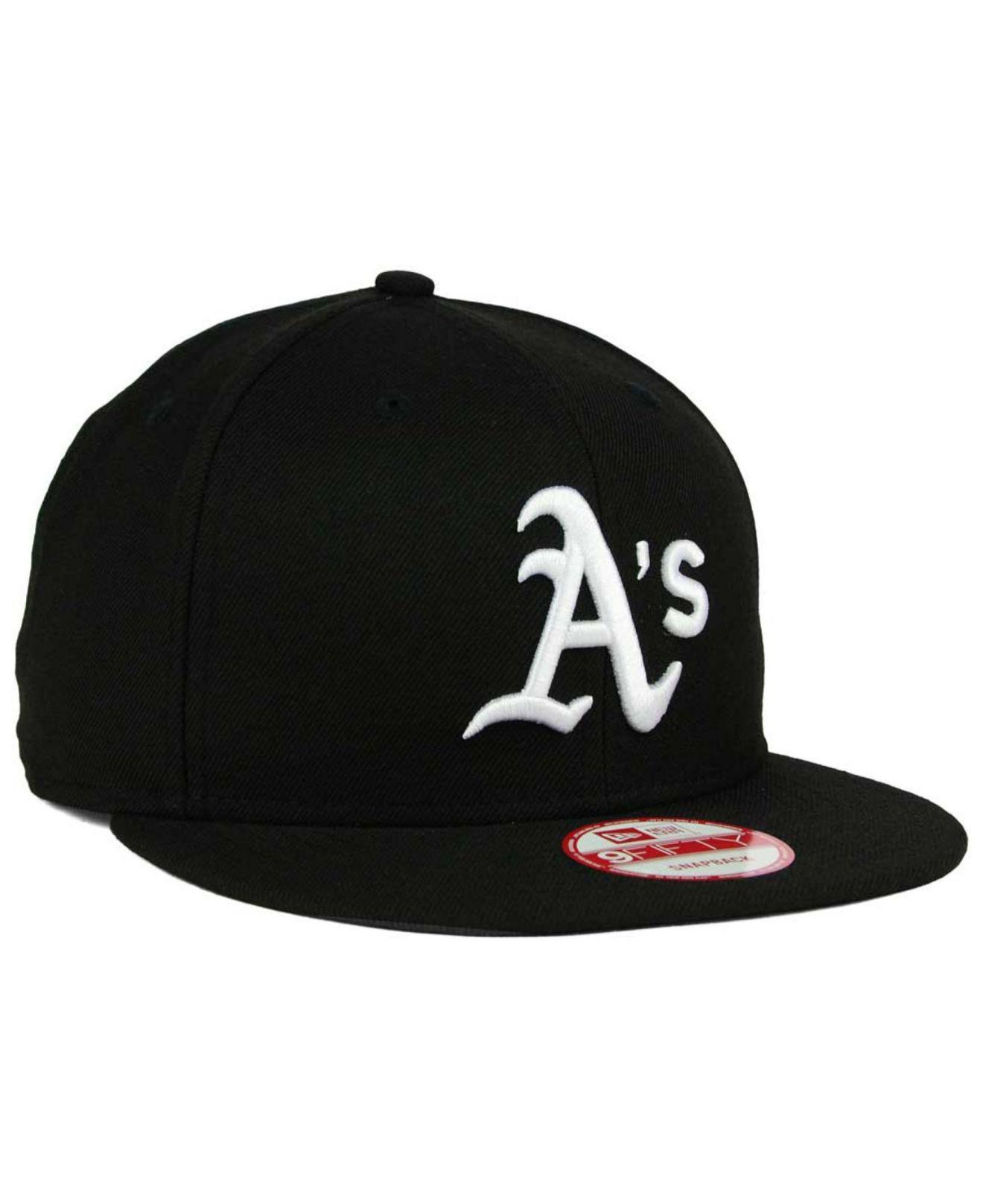 best website a209a a2761 KTZ - Black Oakland Athletics B-dub 9fifty Snapback Cap for Men - Lyst.  View fullscreen