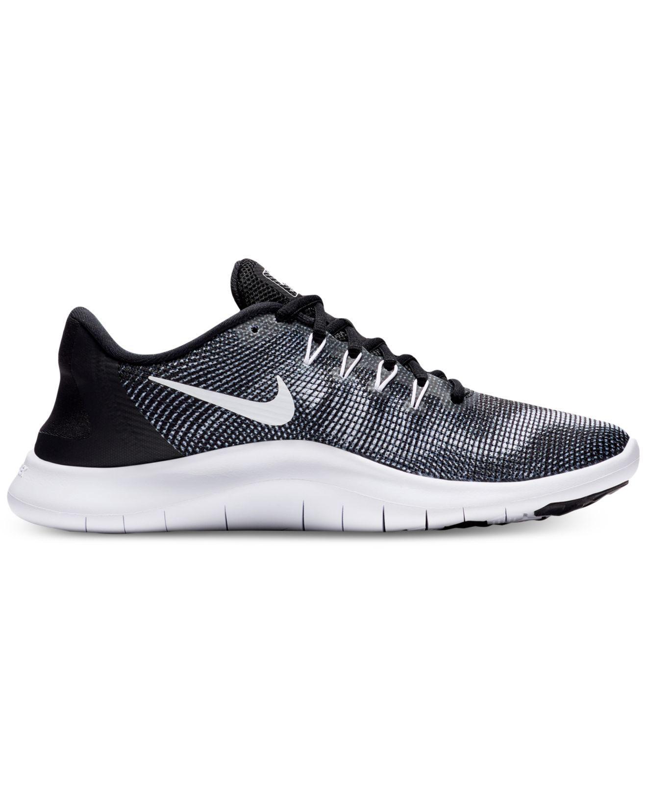 8e36a00520f0f Lyst - Nike Flex Rn 2018 Mesh Sneaker in Black for Men - Save 51%
