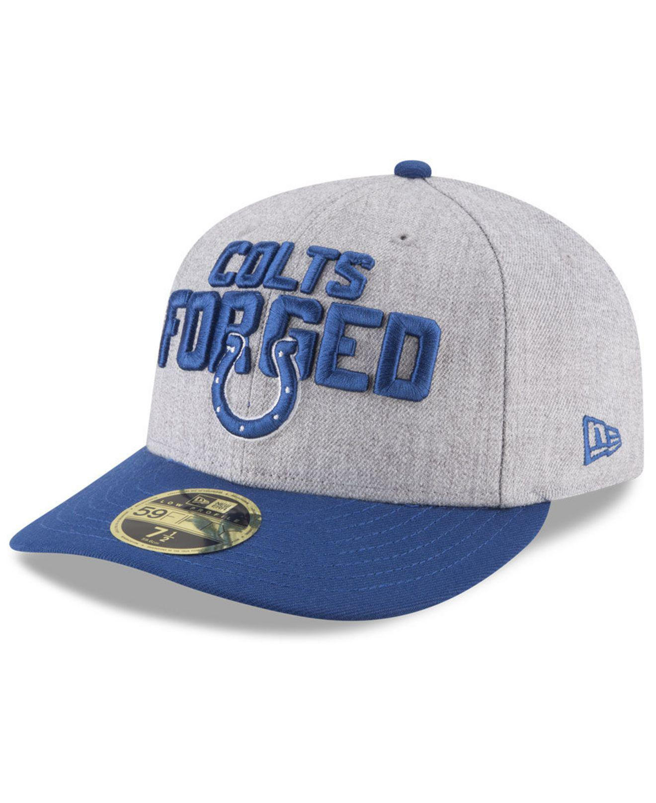 the best attitude b0265 bbeb8 KTZ. Men s Indianapolis Colts Draft Low Profile 59fifty Fitted Cap