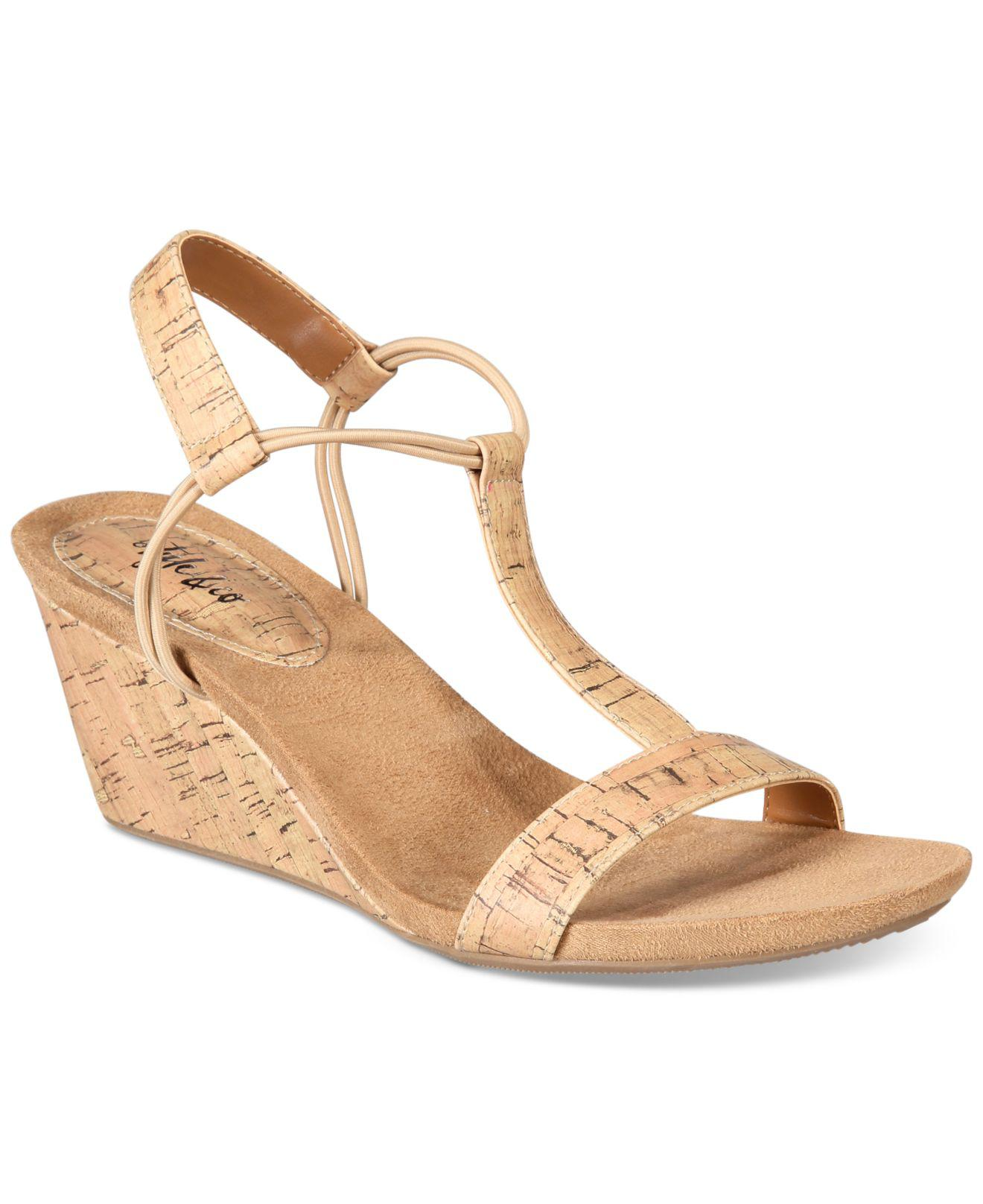 ca1969457b Style & Co. Mulan Wedge Sandals, Created For Macy's - Save 56% - Lyst