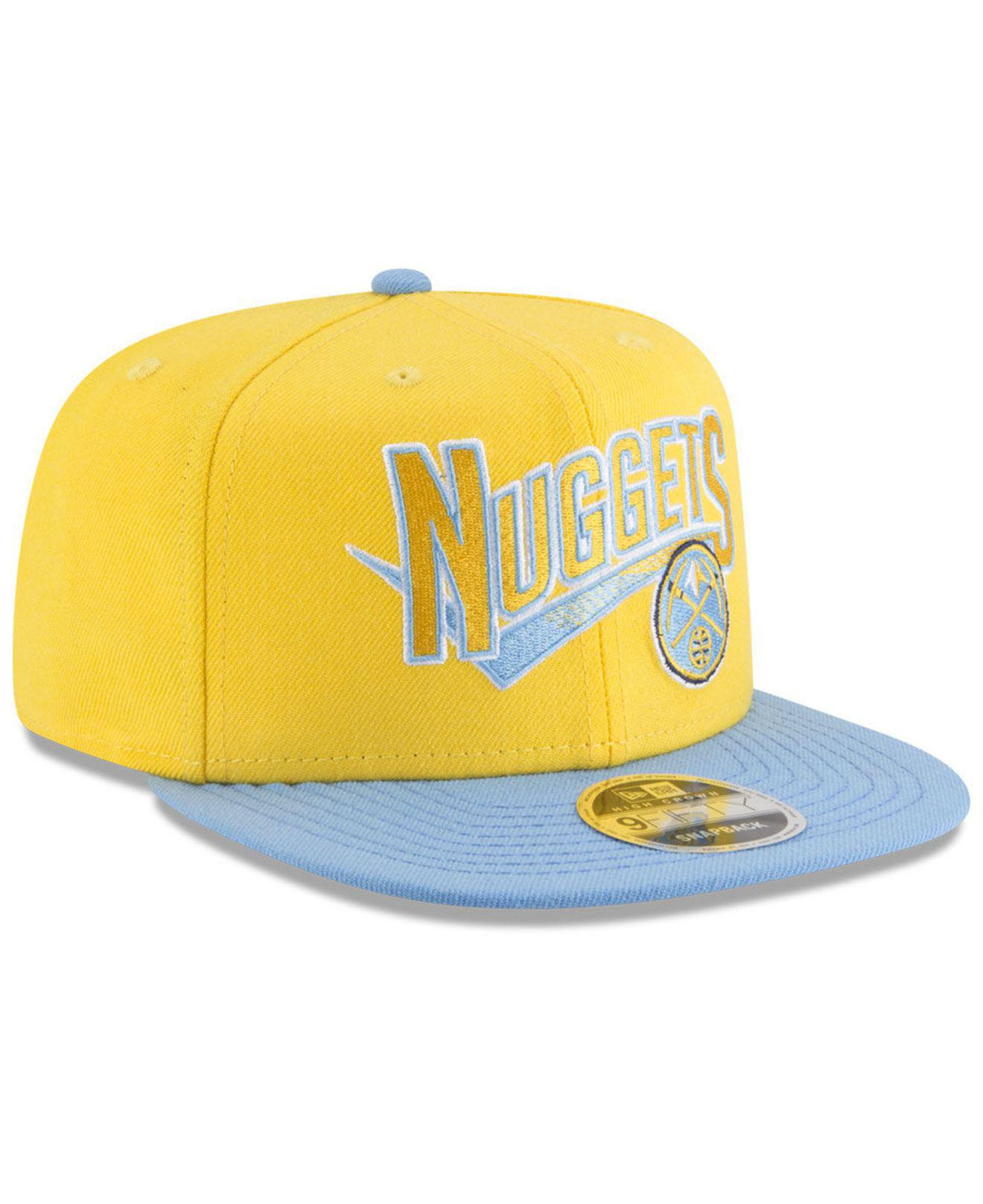 reputable site 70e4d 263a1 ... new era 9fifty snapback 5d2db ff91a  promo code for lyst ktz denver  nuggets retro tail 9fifty snapback cap in yellow 590a6 149b7