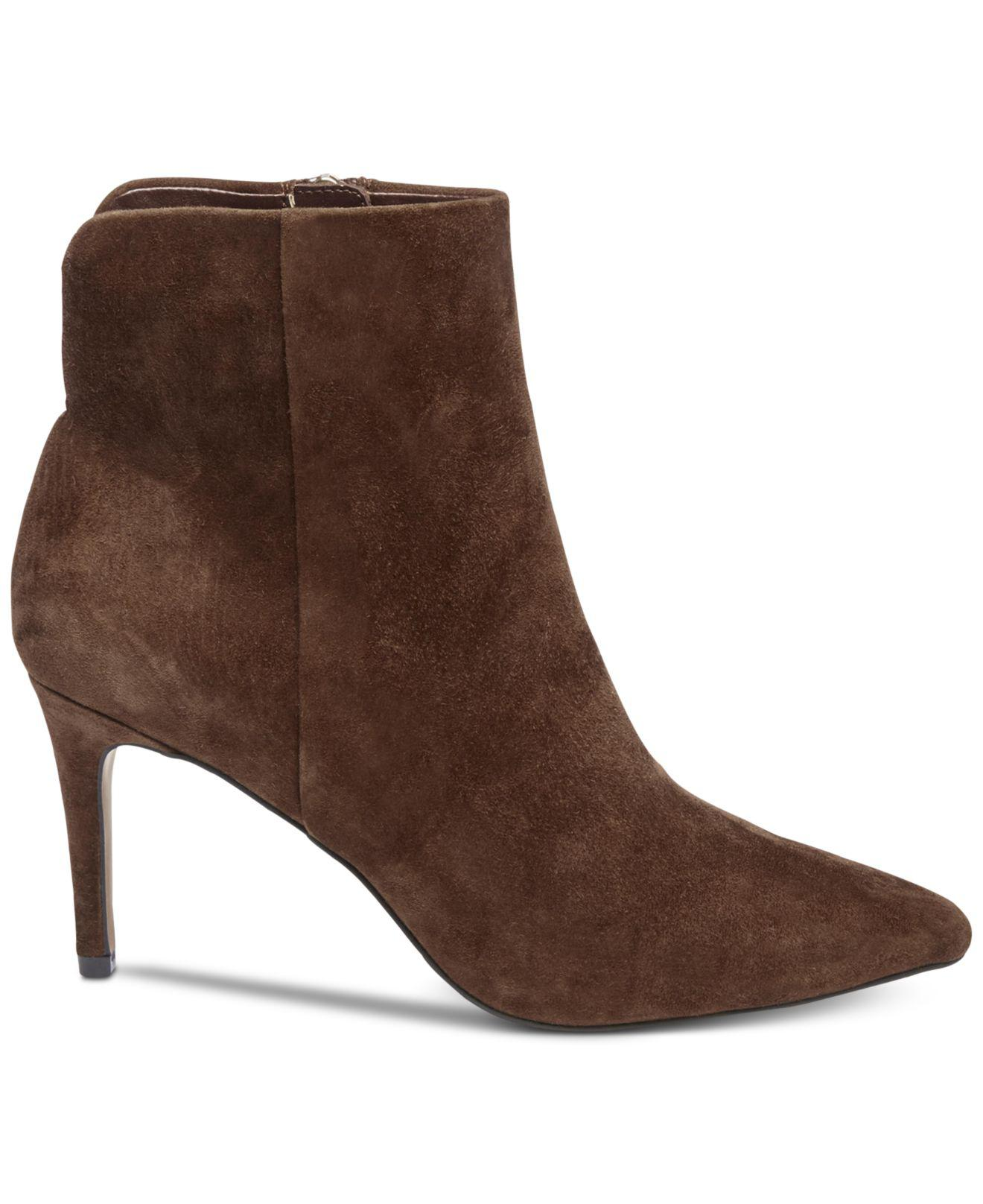 304d72dd686 Lyst - Steven by Steve Madden Leila Booties in Brown - Save 7%