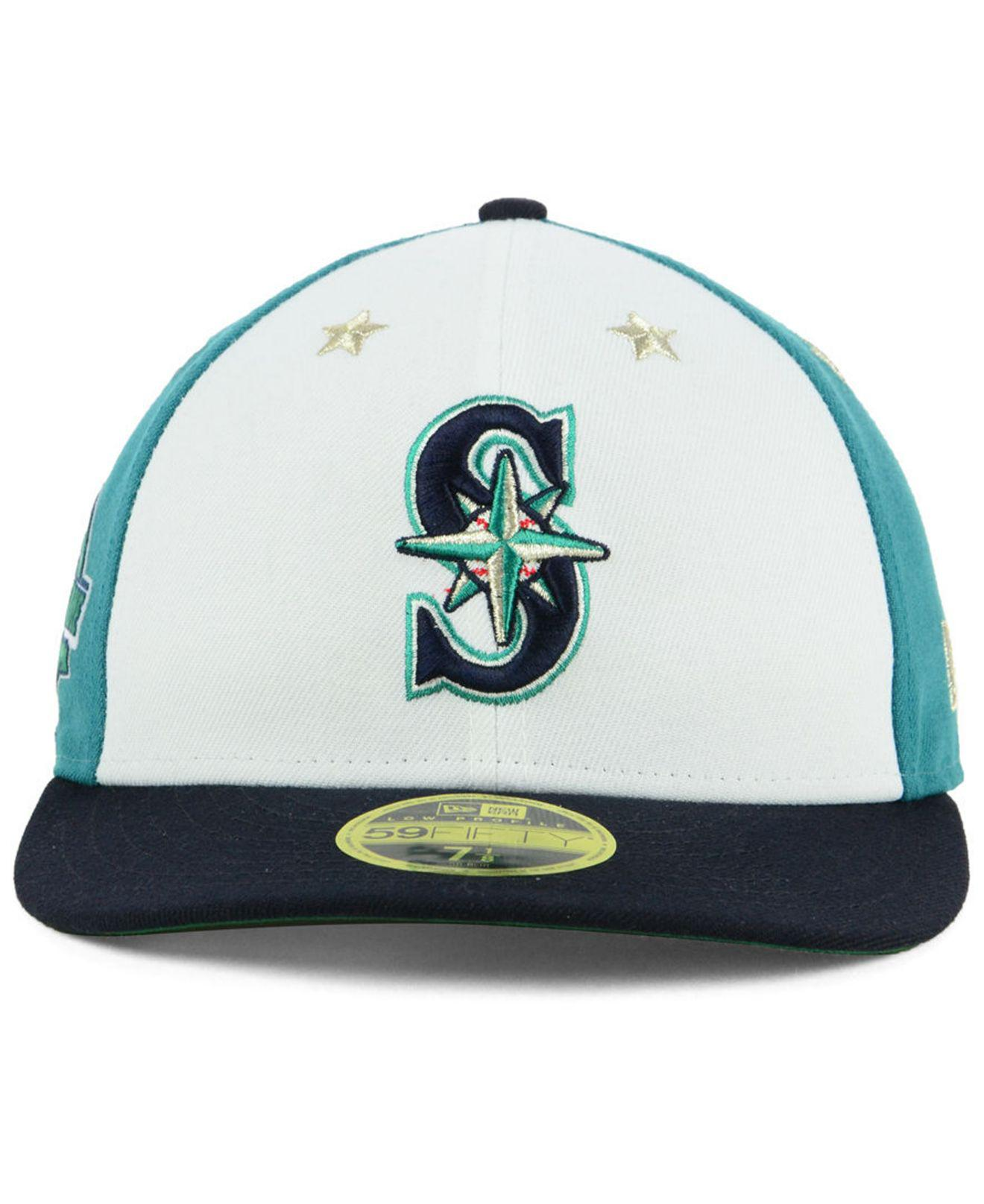 best service e6a40 135e8 aliexpress lyst ktz seattle mariners all star game patch low profile 59fifty  c4db9 47f8d