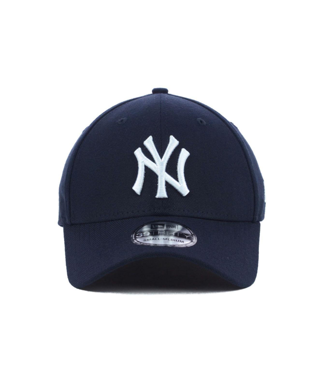 pretty nice dd323 5f13e ... norway lyst ktz new york yankees mlb team classic 39thirty cap in blue  for men 7aeb0