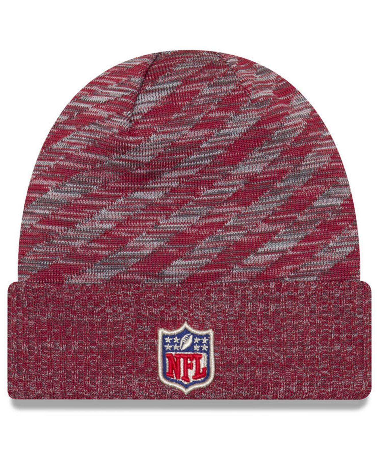 Lyst - Ktz Arizona Cardinals Touch Down Knit Hat in Red for Men 0018c291b499