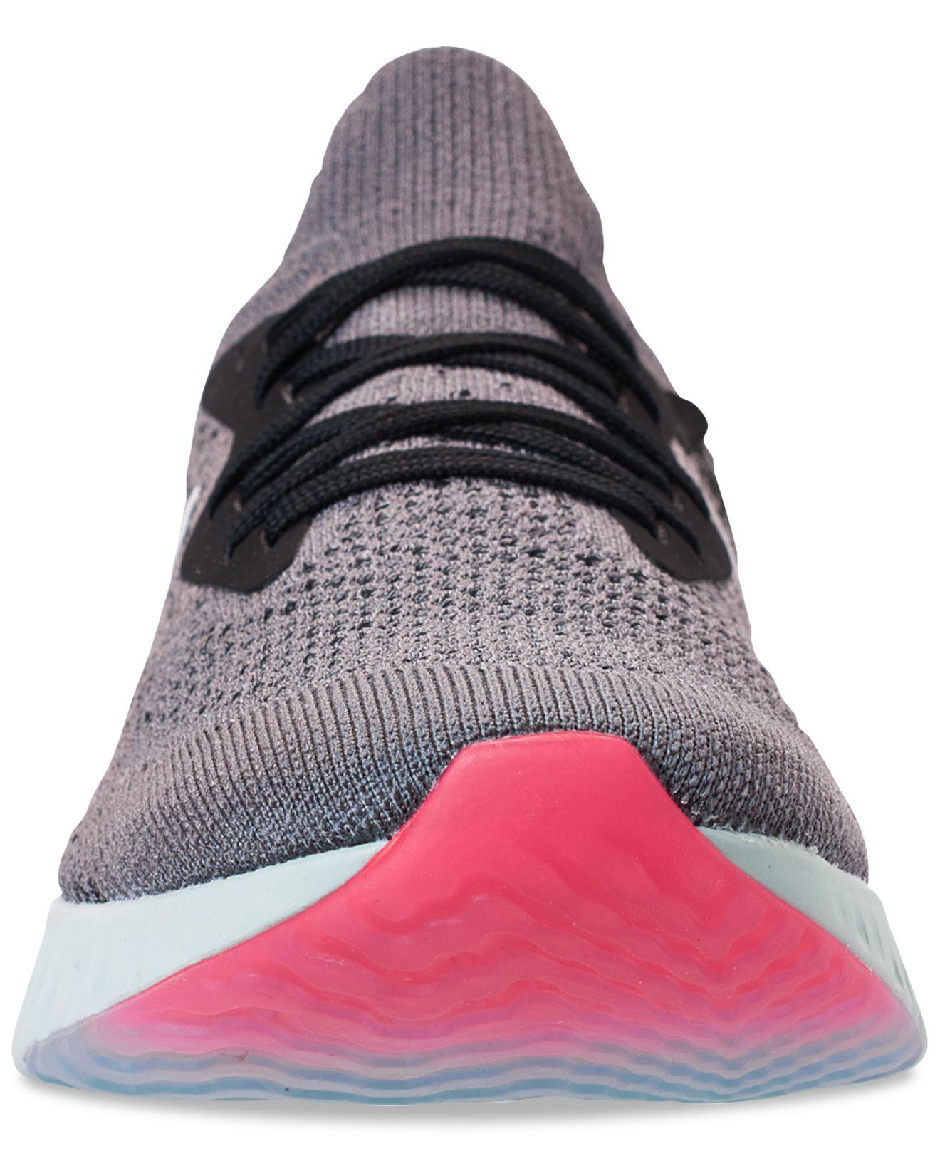 a3c9dfbfe2fae Lyst - Nike Epic React Flyknit Running Sneakers From Finish Line in ...