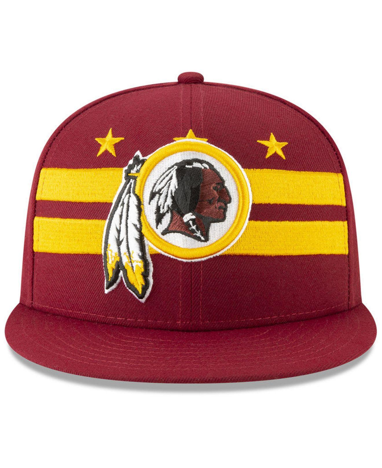 brand new c43e5 ebe94 Lyst - KTZ Washington Redskins 2019 Draft 59fifty Fitted Cap for Men