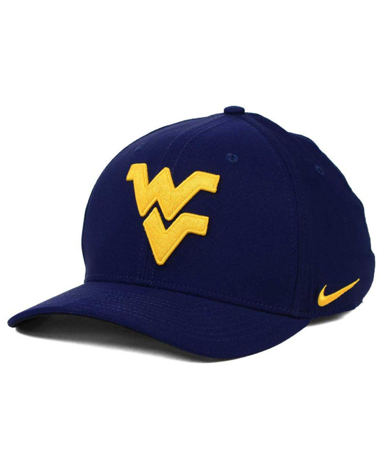 watch 34044 95a2f ... new zealand where can i buy nike. mens blue west virginia mountaineers  classic swoosh cap