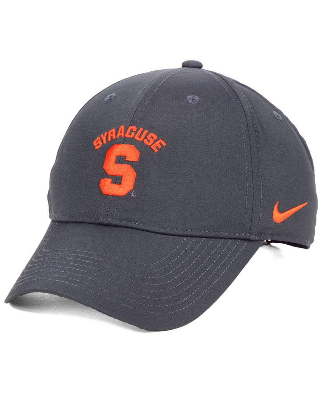 best loved 7c67f 9bbe6 Nike Syracuse Orange Dri-fit Adjustable Cap in Gray for Men - Lyst