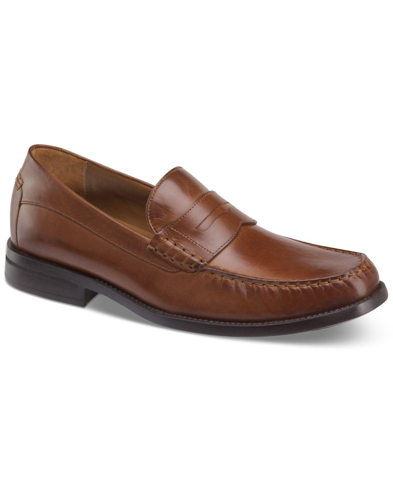 Johnston & Murphy Men's Chadwell Penny Moc-Toe Slip-On Loafers Men's Shoes GCOWvfur