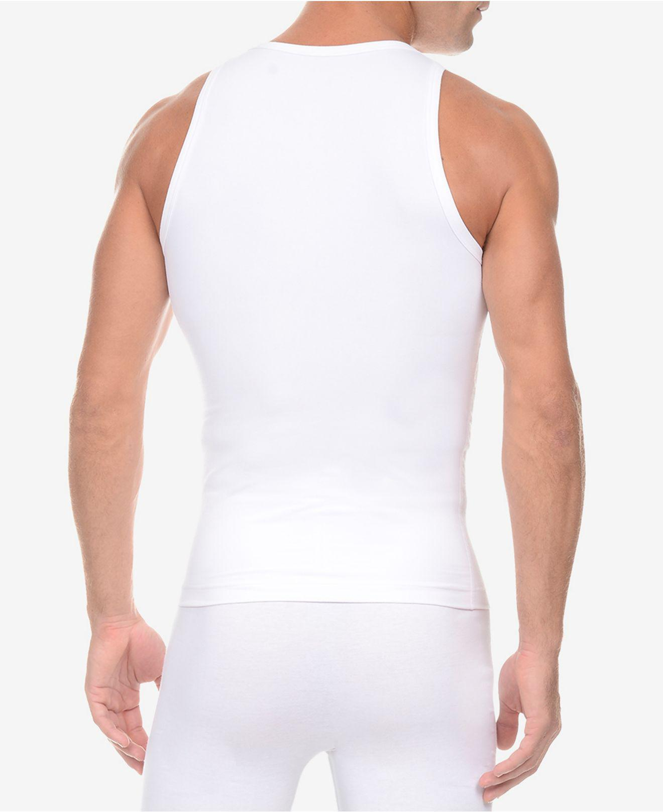 aa213bec01acb Lyst - 2xist Men s Shapewear Form Tank Top in White for Men - Save 33%
