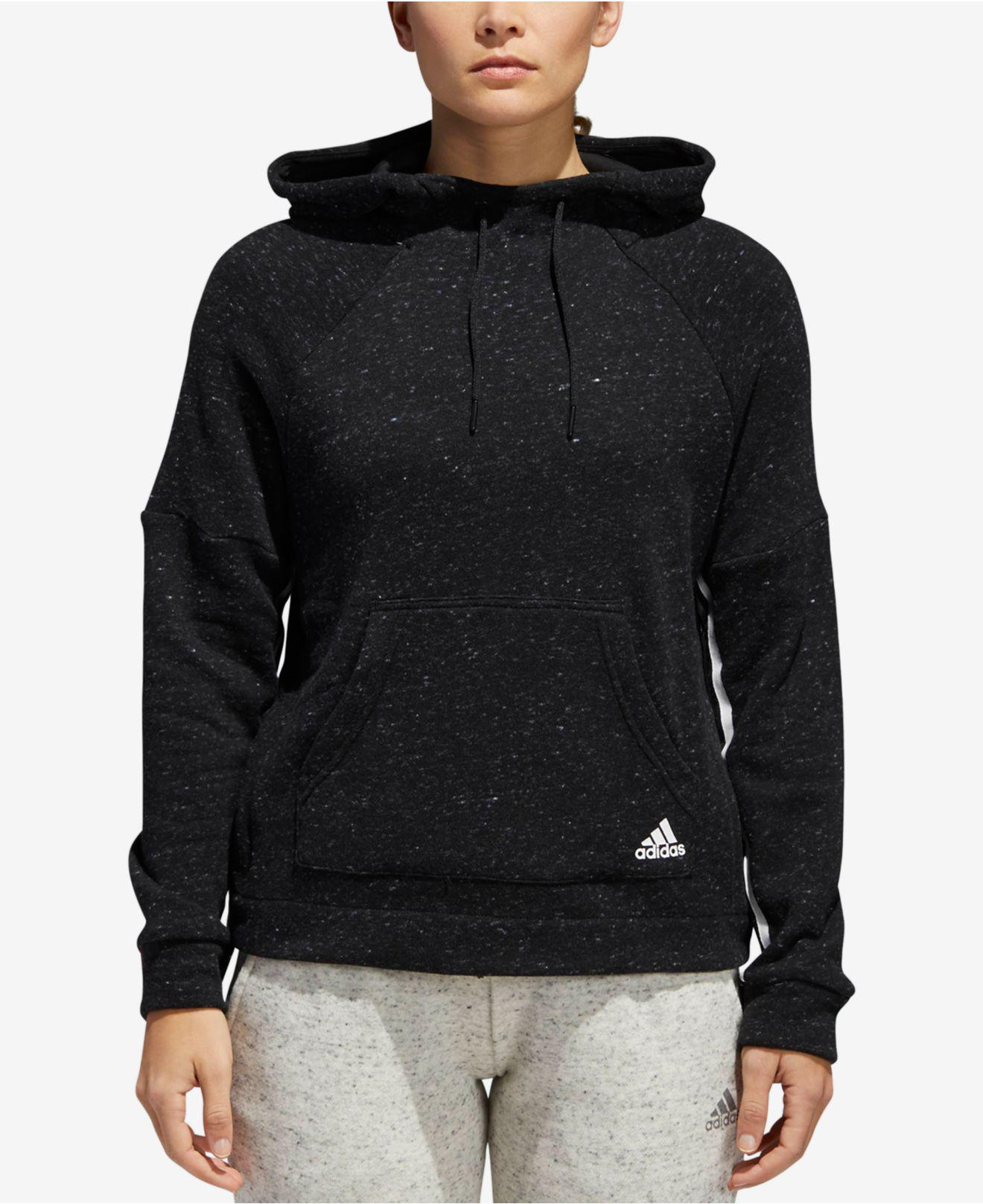 1fb0ce5f1 Lyst - adidas Sport2street Cotton French Terry Hoodie in Black