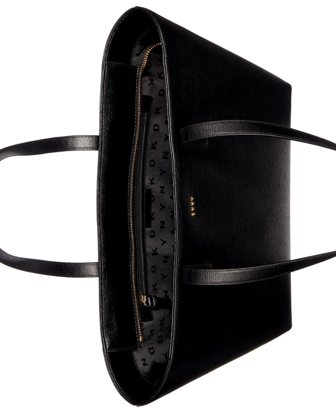 Lyst - DKNY Bryant Large Tote in Black f99c3366d407a