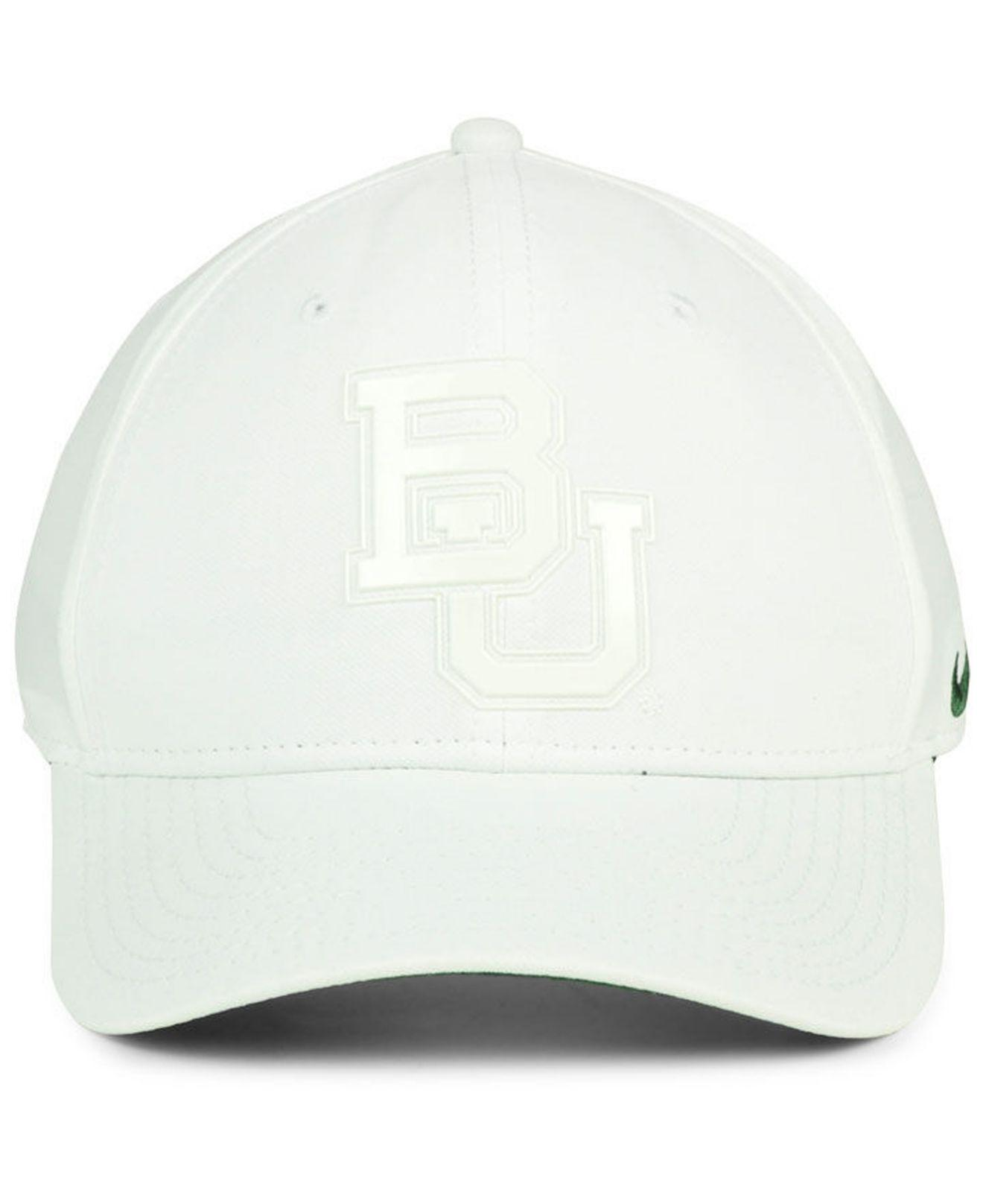 best website 90225 580eb ... canada lyst nike baylor bears col cap in white for men 0e2f0 eed20