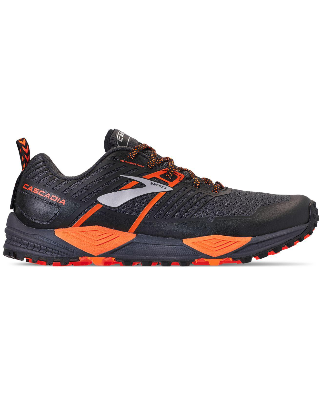 970689f7242 Lyst - Brooks Cascadia 13 Trail Running Sneakers From Finish Line in Gray  for Men