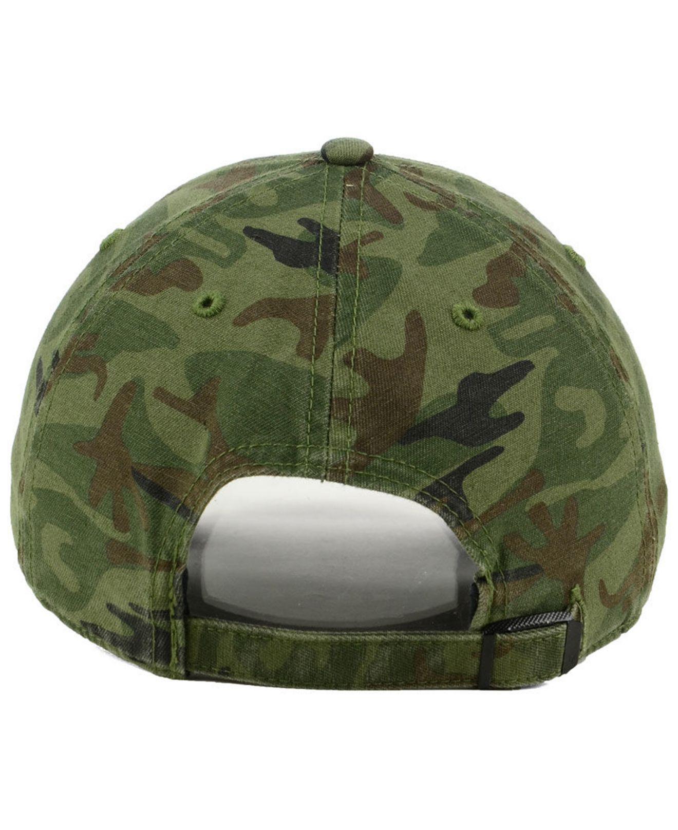 fa9011a7da8 47 Brand - Green Ole Miss Rebels Regiment Clean Up Strapback Cap for Men -  Lyst. View fullscreen