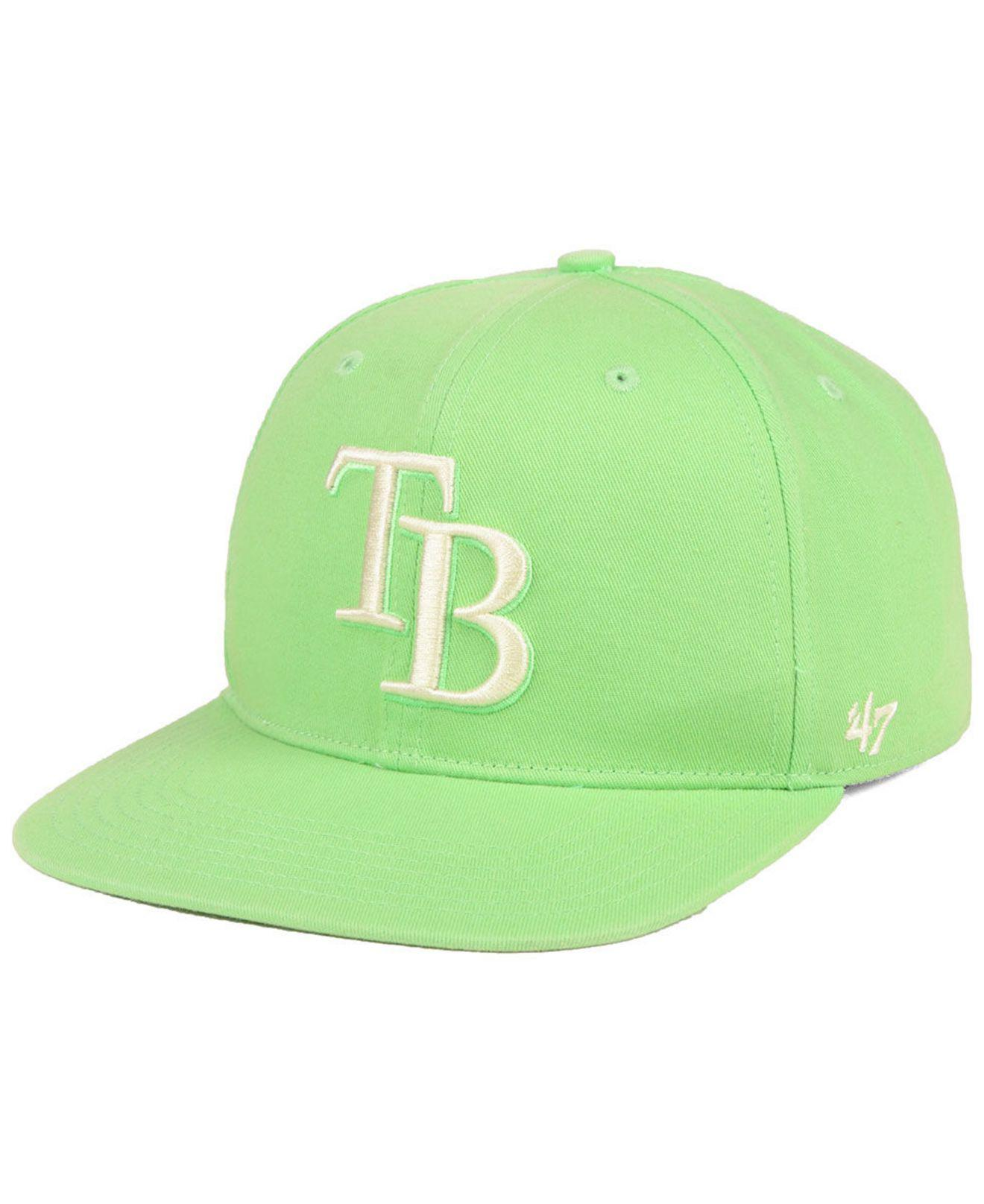the latest 6e6e1 1f41c ... Tampa Bay Rays Island Snapback Cap for Men - Lyst. View fullscreen