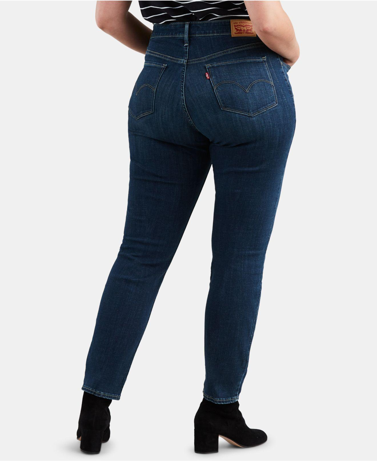 60cc045968f Lyst - Levi s ® Plus Size 311 Shaping Skinny Jeans in Blue