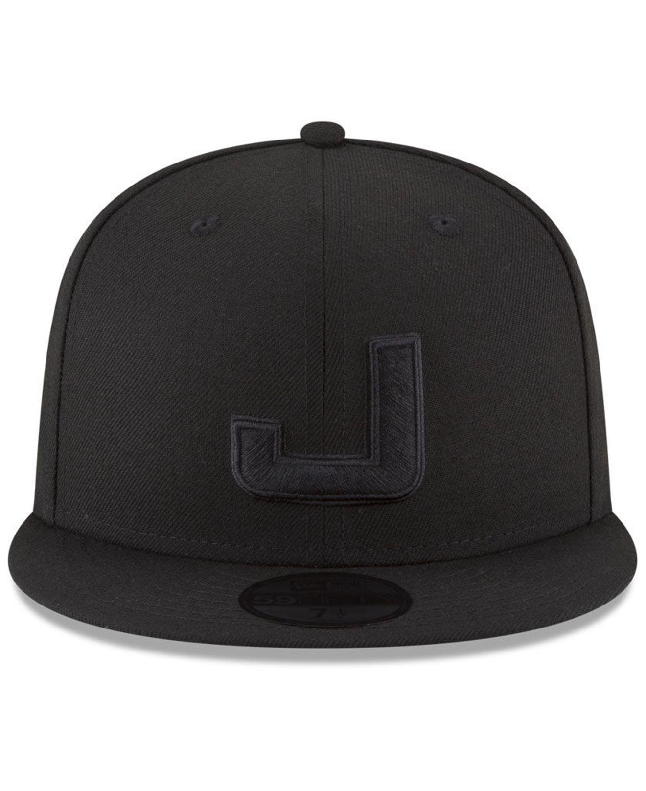 Lyst - KTZ Utah Jazz Alpha Triple Black 59fifty Fitted Cap in Black for Men 83b95bdbe