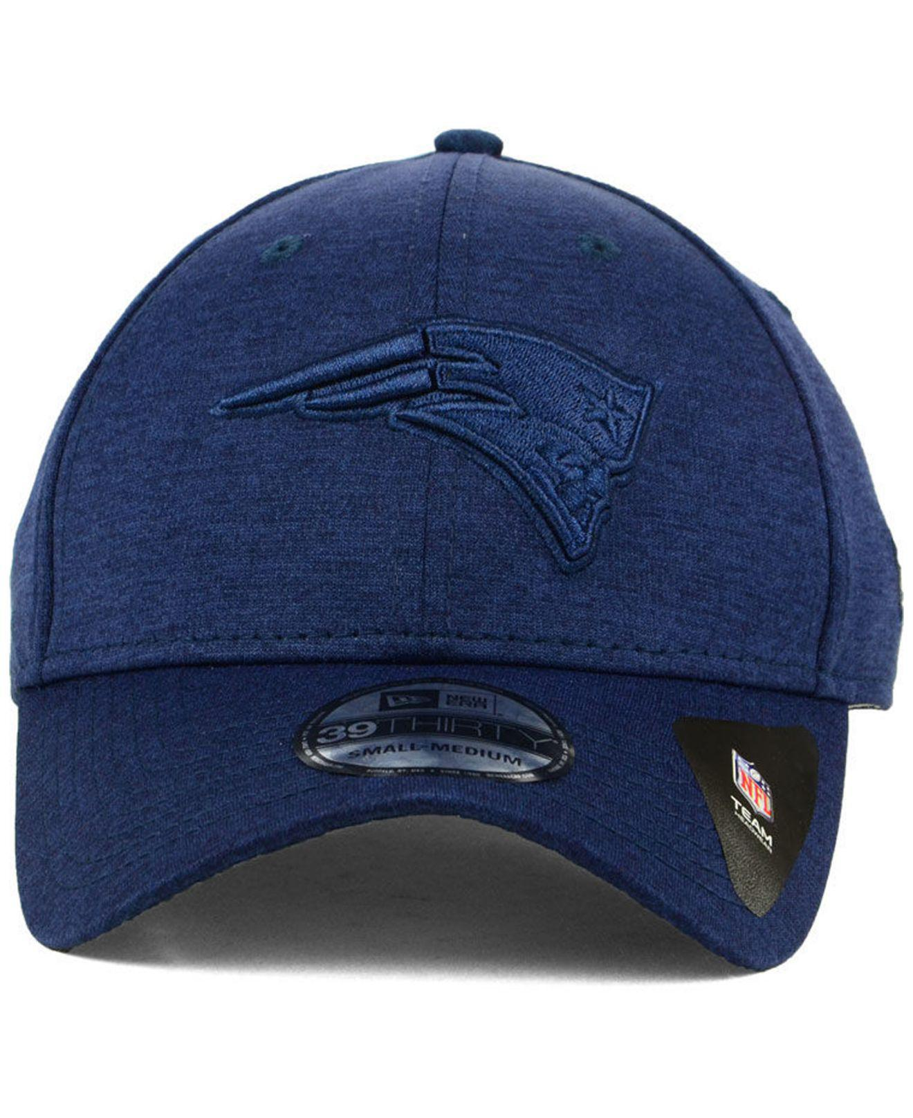 68b0a5307f0 Lyst - KTZ New England Patriots Tonal Heat 39thirty Cap in Blue for Men