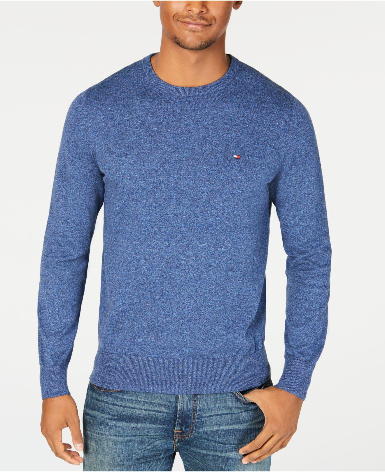 d24ef3631c Lyst - Tommy Hilfiger Prep Crew Neck Sweater in Blue for Men