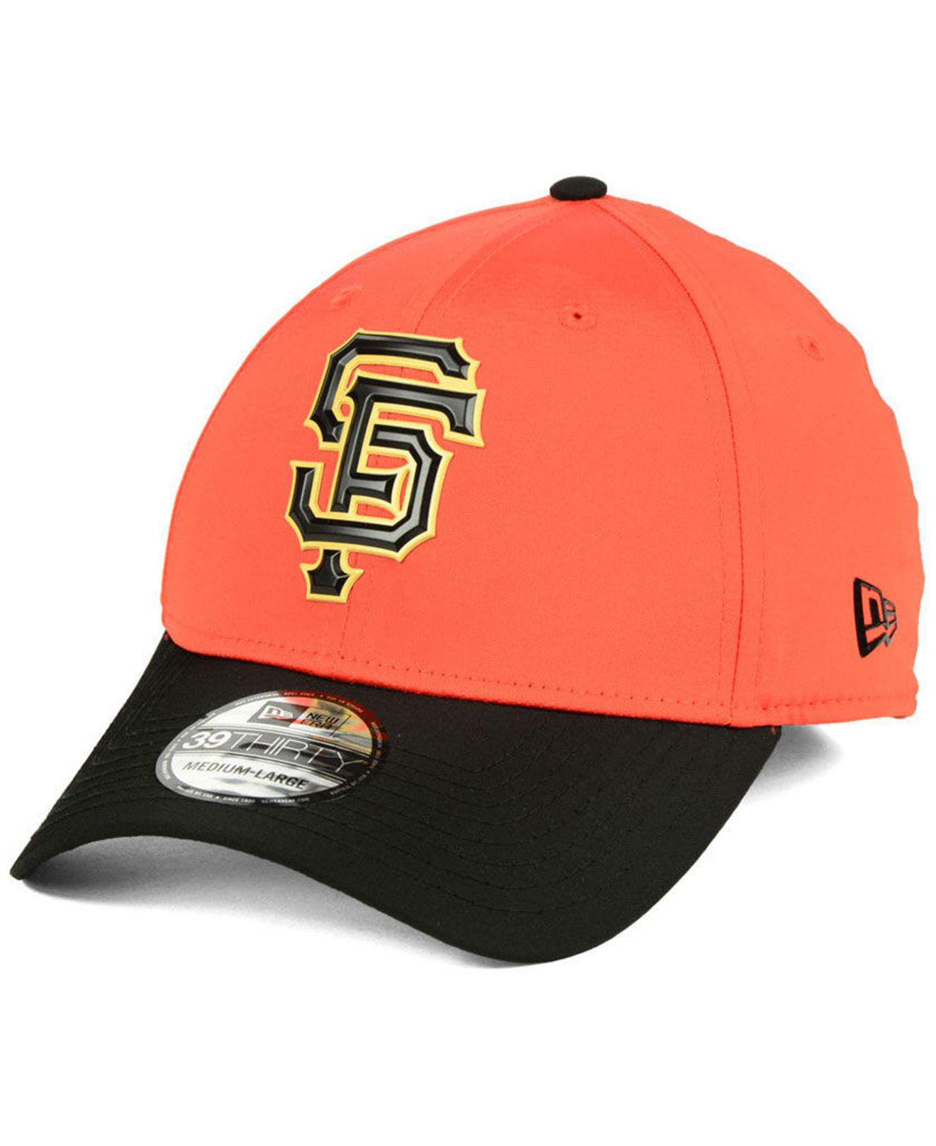 watch 45a90 b069a ... shop ktz. mens black san francisco giants batting practice 39thirty cap  809f1 3fe5f