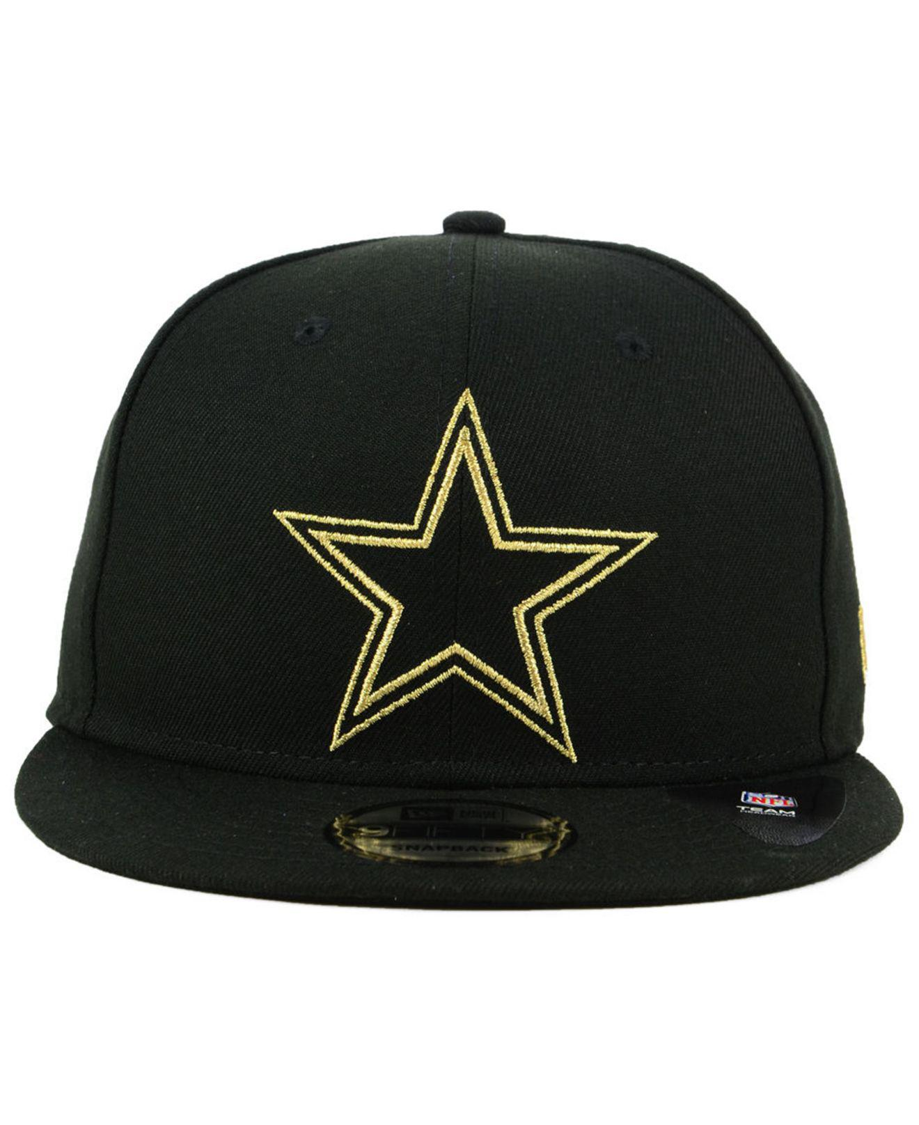 Lyst - KTZ Dallas Cowboys Tracer 9fifty Snapback Cap in Black for Men 07ee985491c