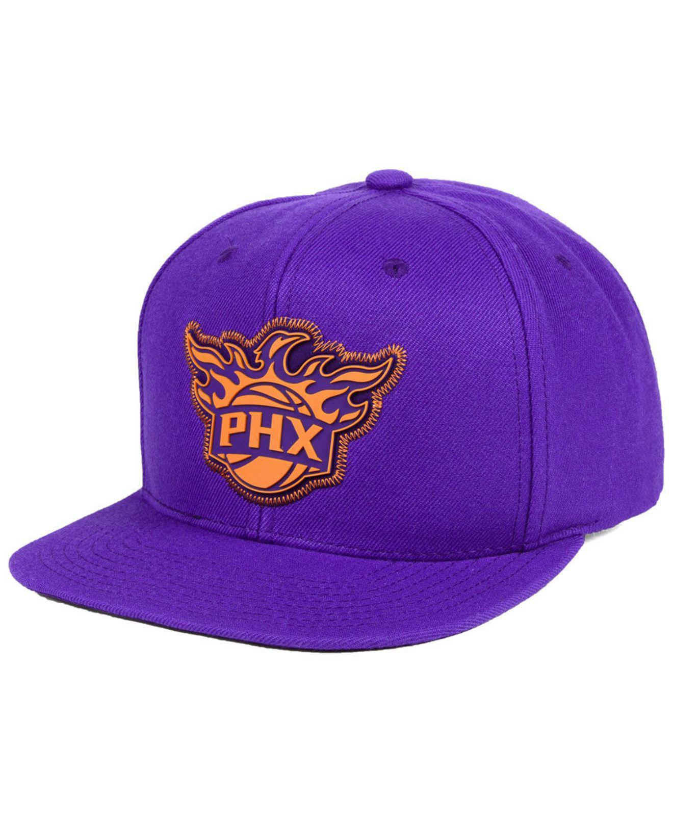 official photos 9e1d3 f7a2b ... hat cap nba 8530b 702dc  australia mitchell ness. mens purple phoenix  suns zig zag snapback cap d8f3c 708e6