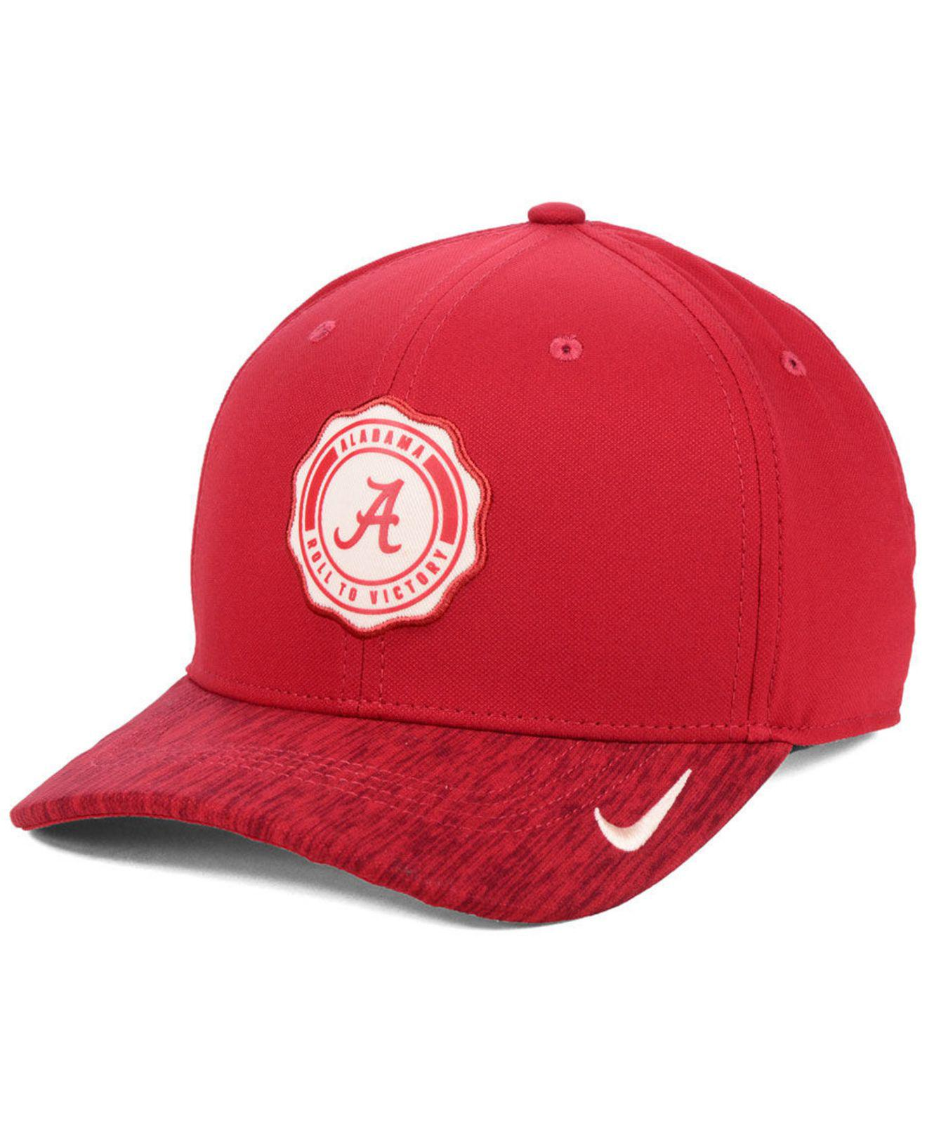 3c576ee166a Lyst - Nike Alabama Crimson Tide Rivalry Cap in Red for Men